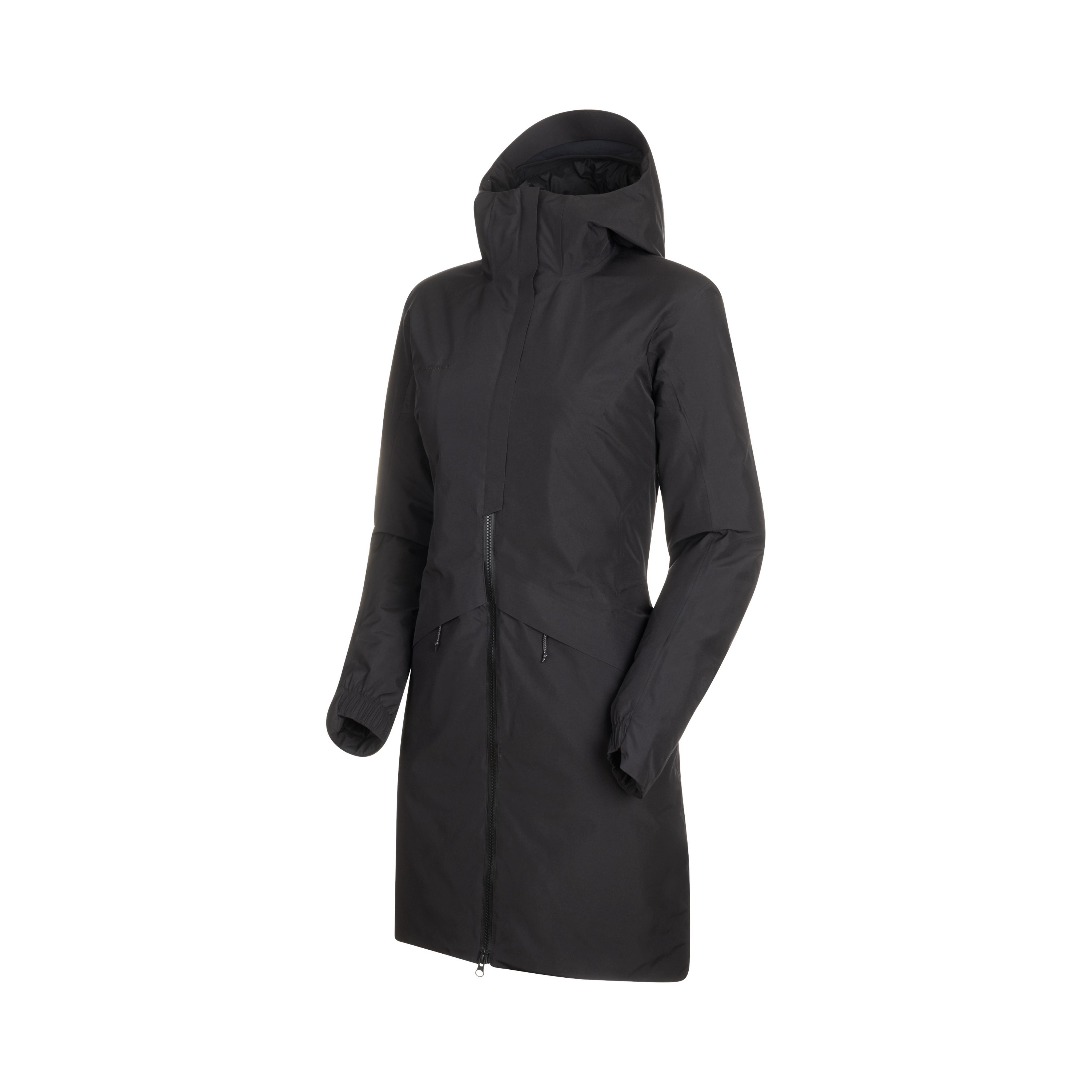 3379 HS Thermo Hooded Coat Women - black, XS thumbnail