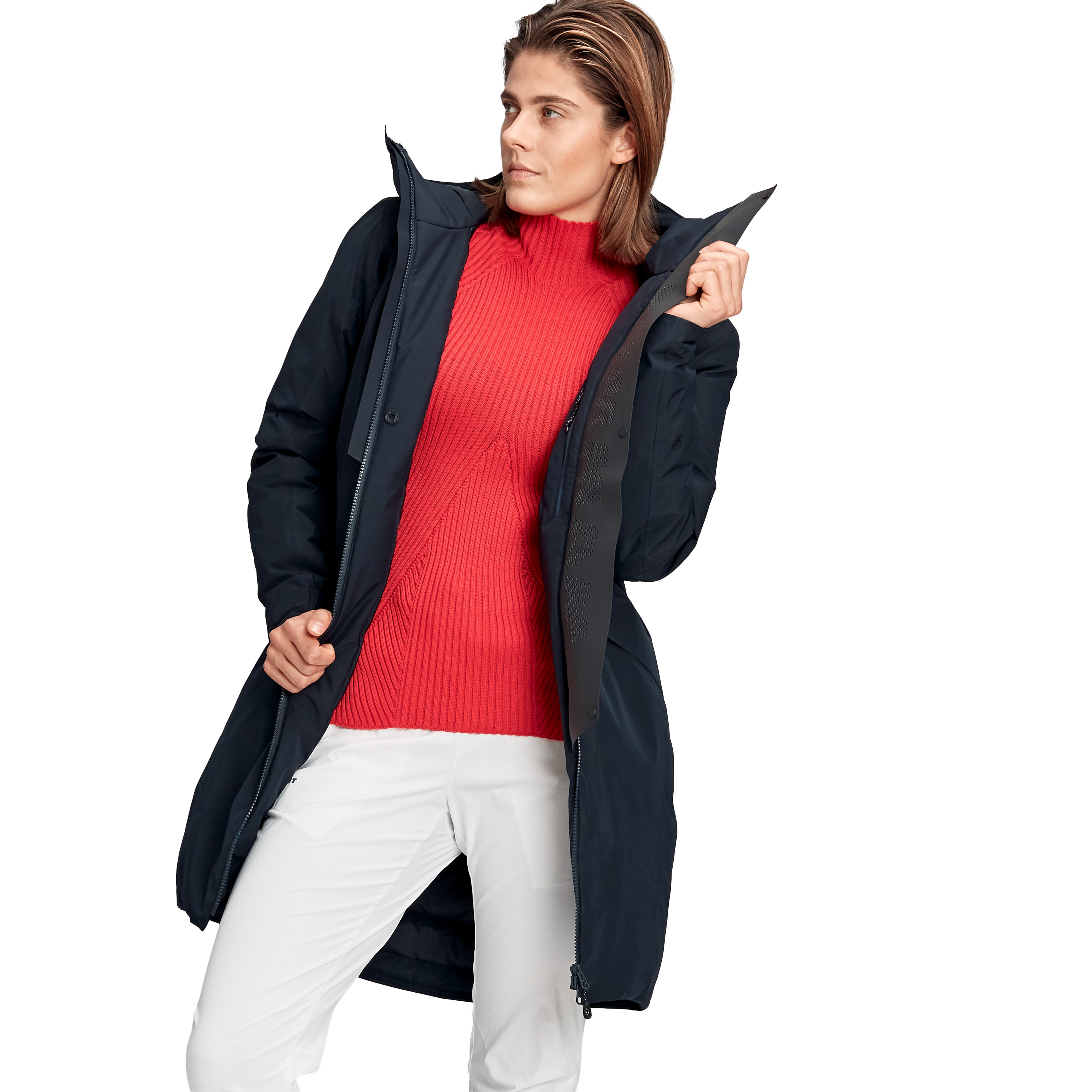 3379 HS Thermo Hooded Coat Women product image