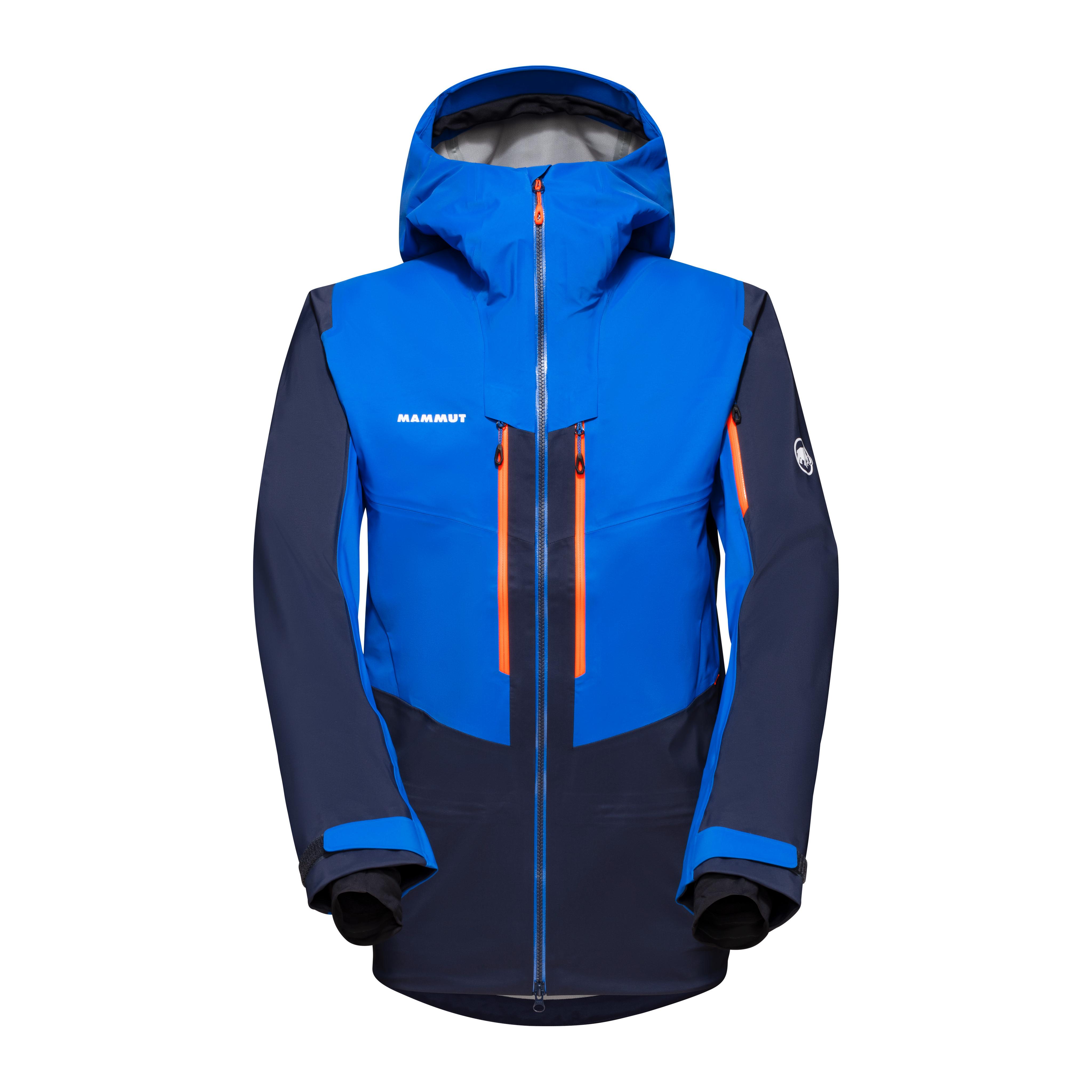 Haldigrat HS Hooded Jacket Men - marine-ice, S thumbnail