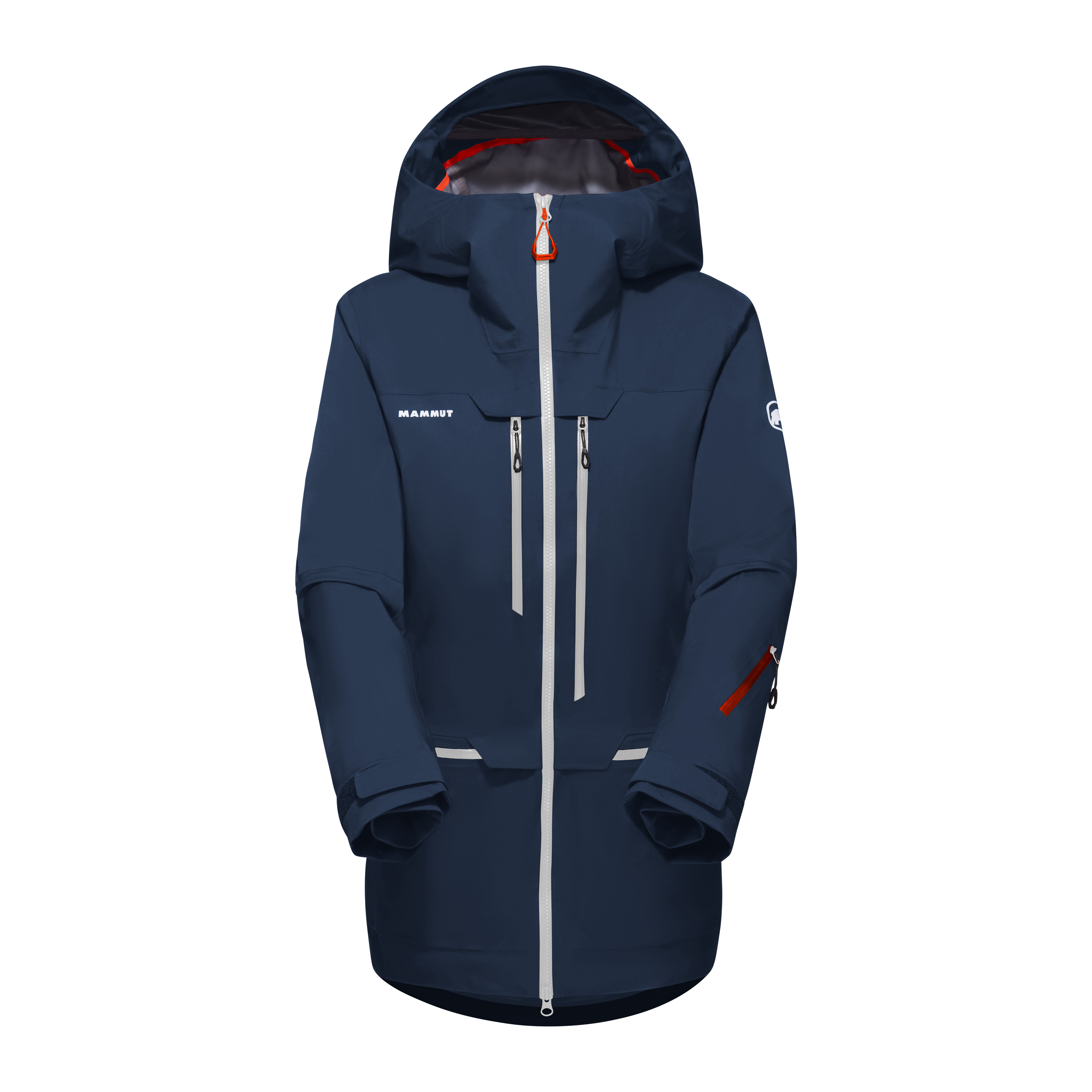 Haldigrat HS Hooded Jacket Women - marine-white, XS thumbnail
