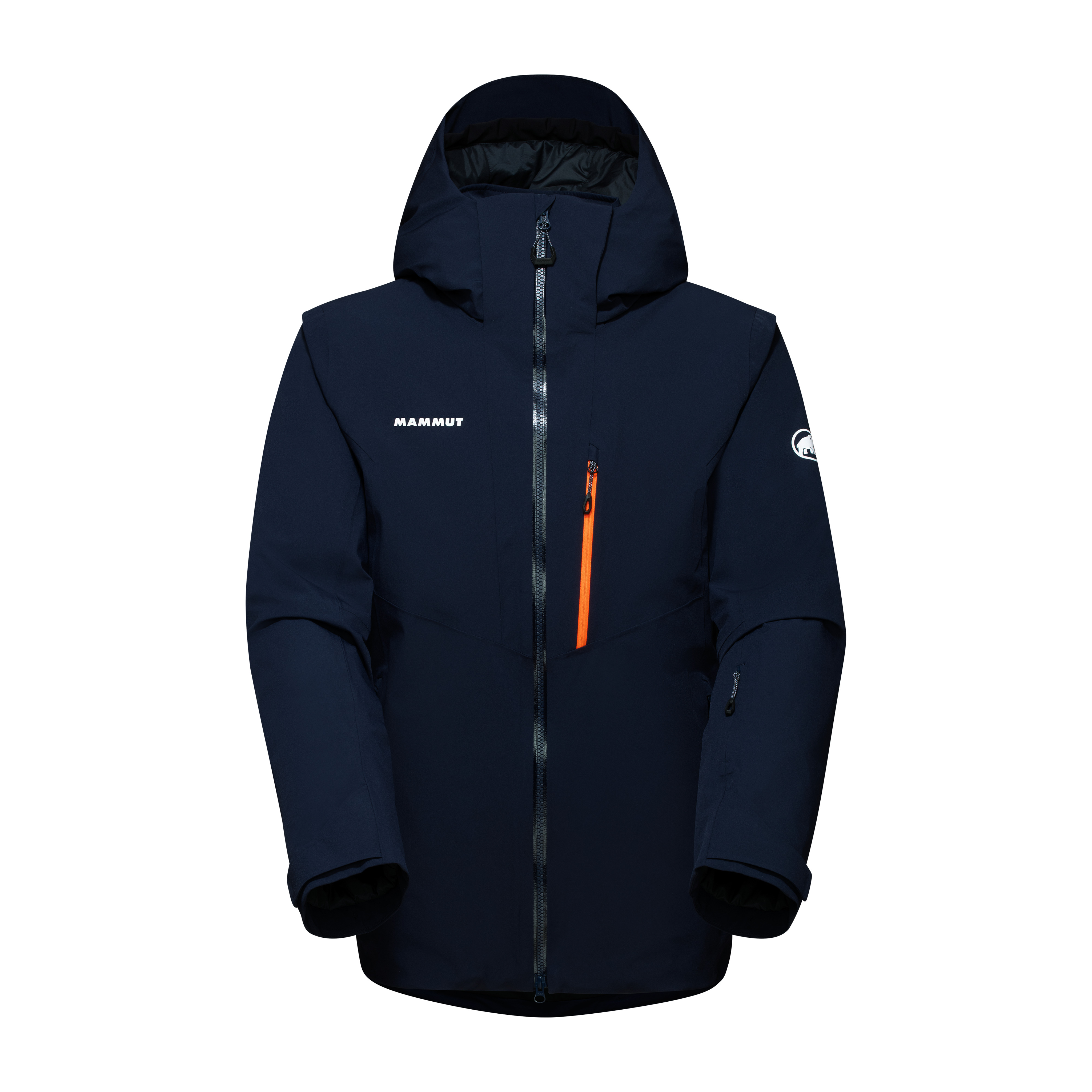 Stoney HS Thermo Jacket Men - marine-vibrant orange, S thumbnail