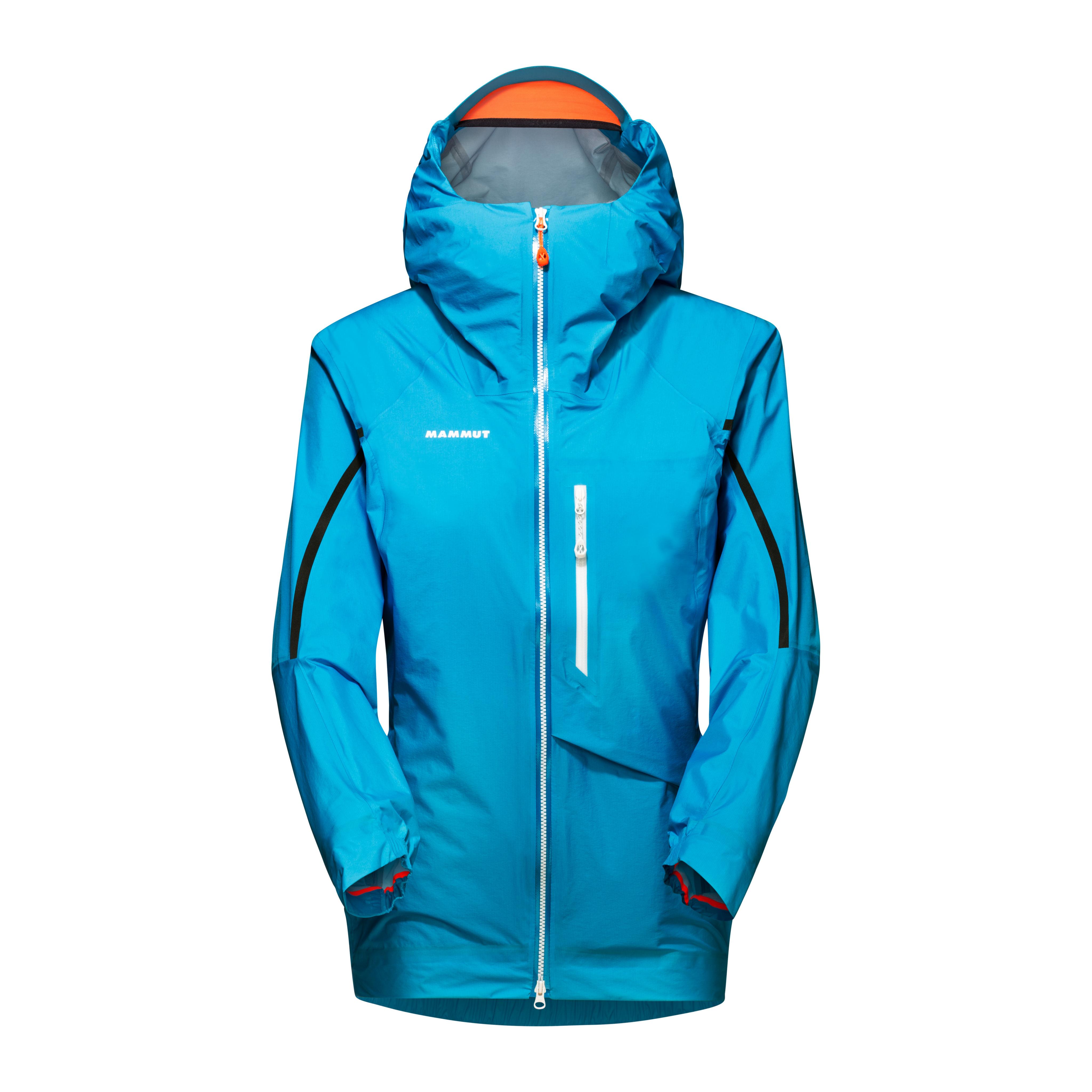 Nordwand Light HS Hooded Jacket Women - sky, XS thumbnail
