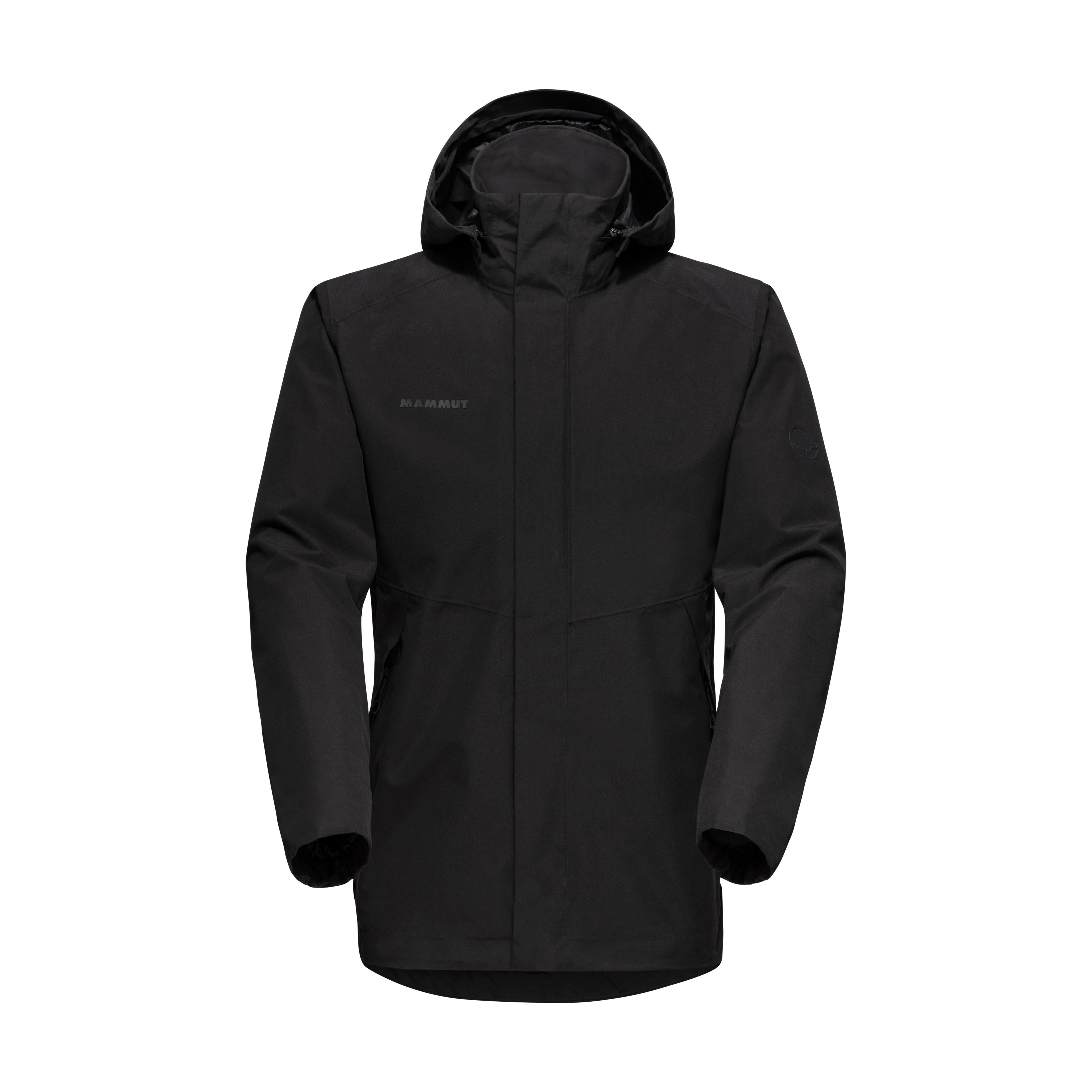 Trovat HS Hooded Jacket Men - black, S thumbnail