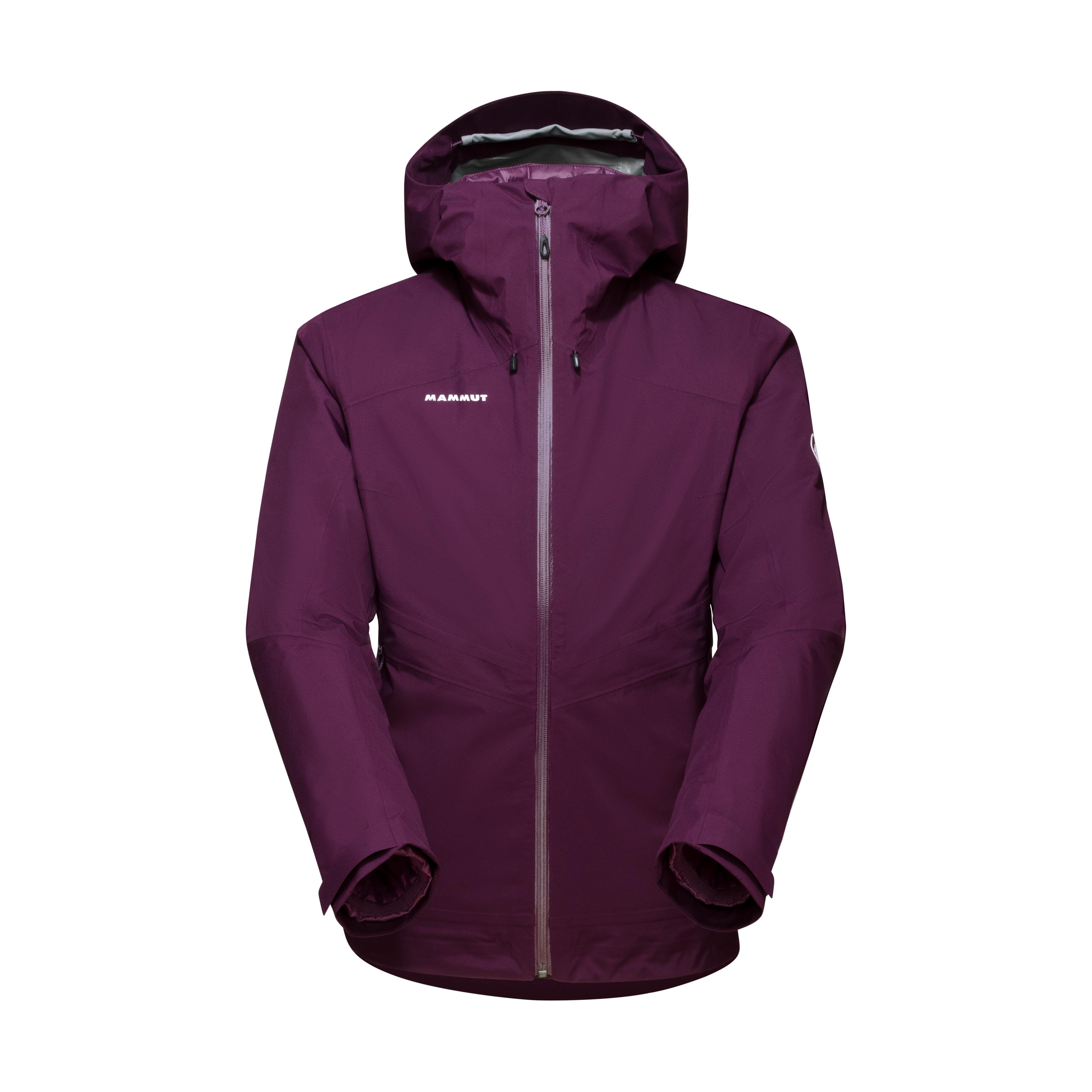 Convey 3 in 1 HS Hooded Jacket Women - grape-grape, XS thumbnail