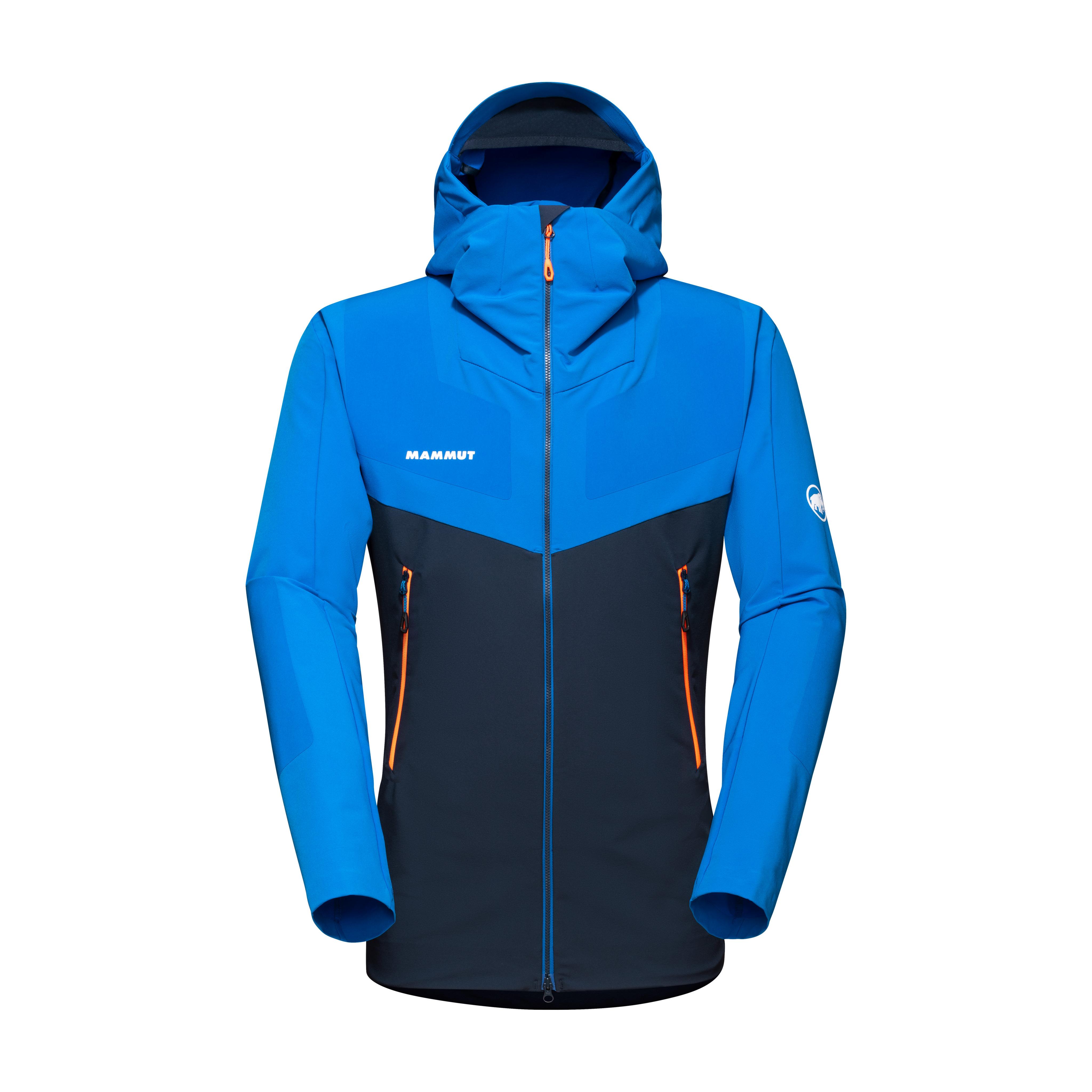 Aenergy Pro SO Hooded Jacket Men - marine-ice, S thumbnail