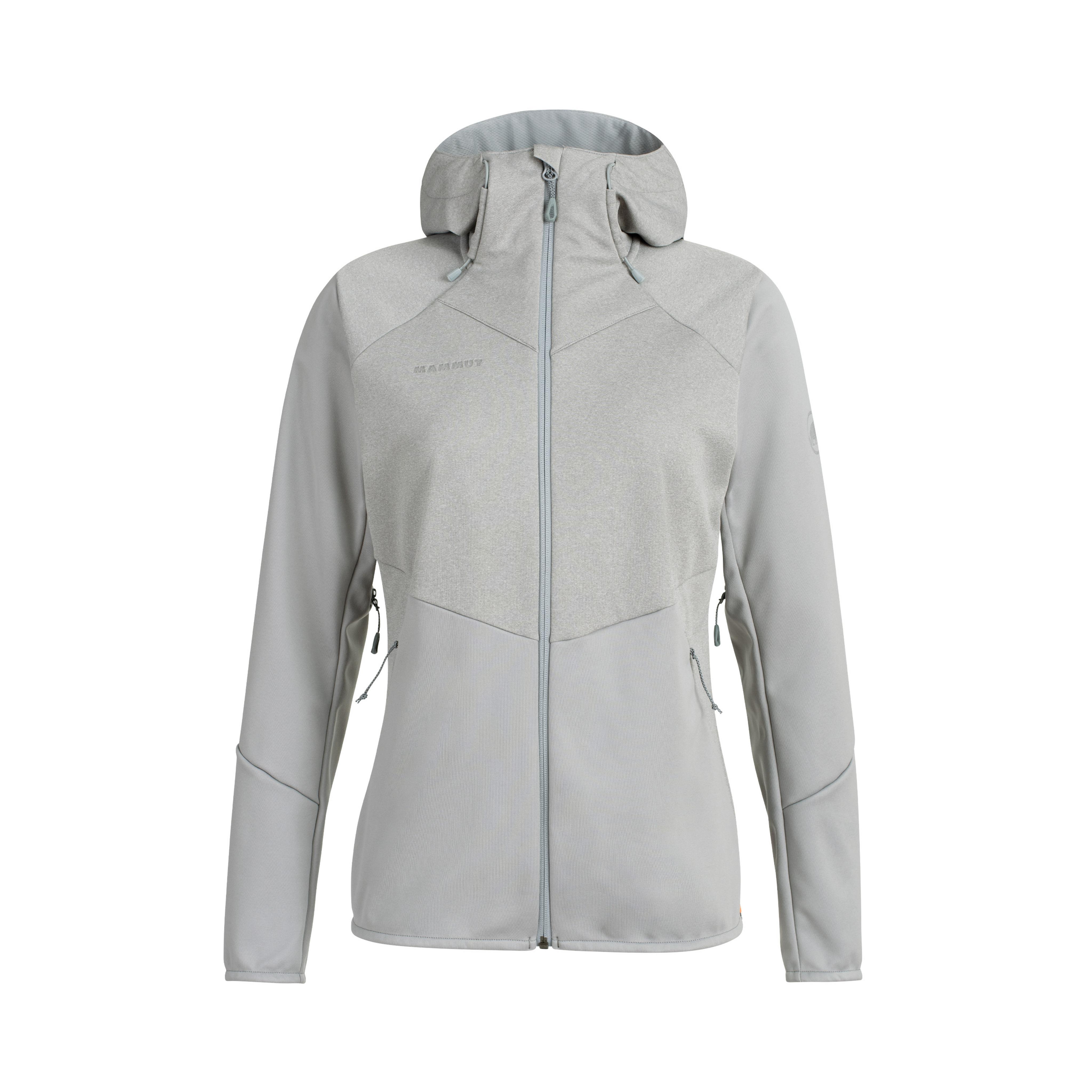 Ultimate VI SO Hooded Jacket Women - granit-granit melange, XL thumbnail