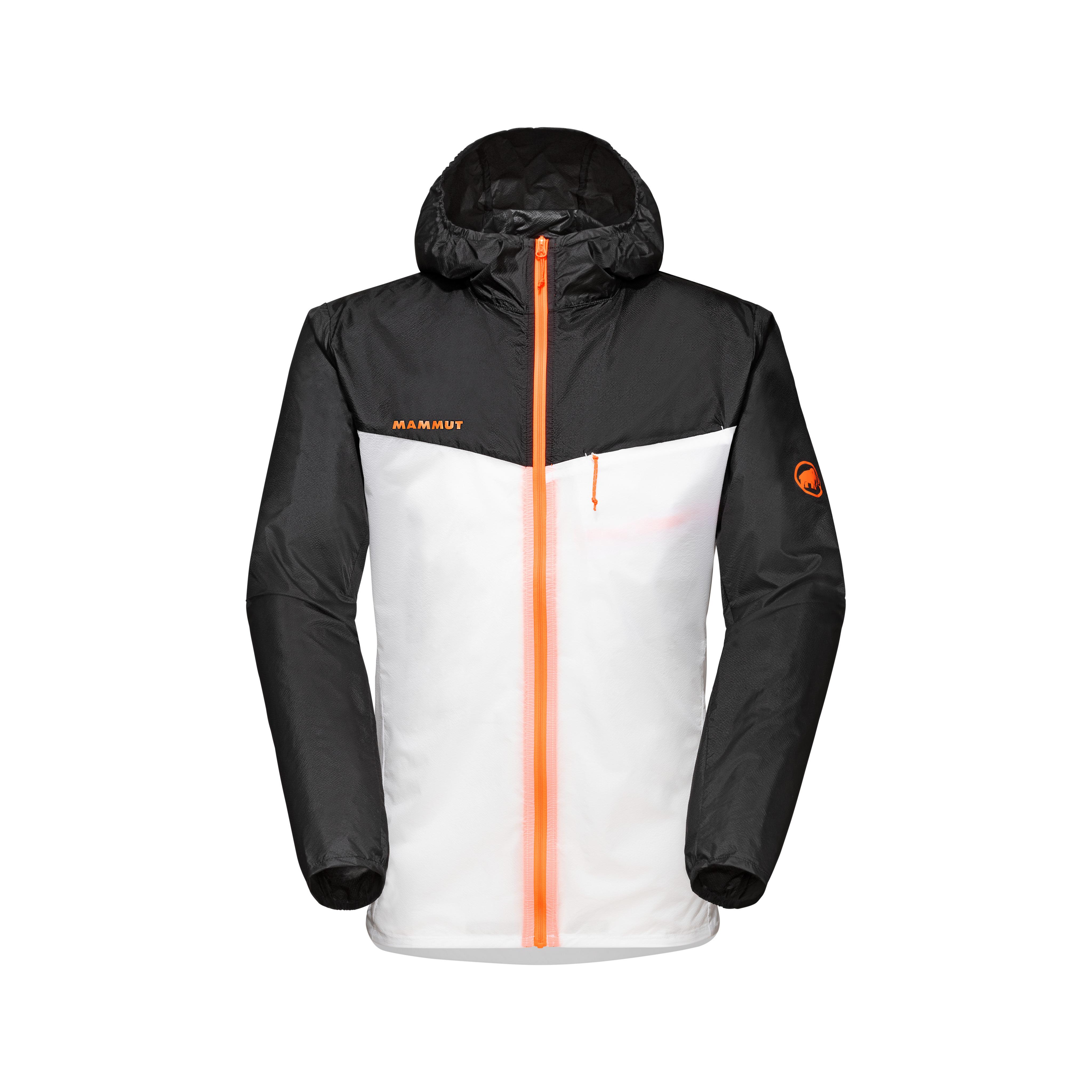 Convey WB Hooded Jacket Men - black-white, S thumbnail