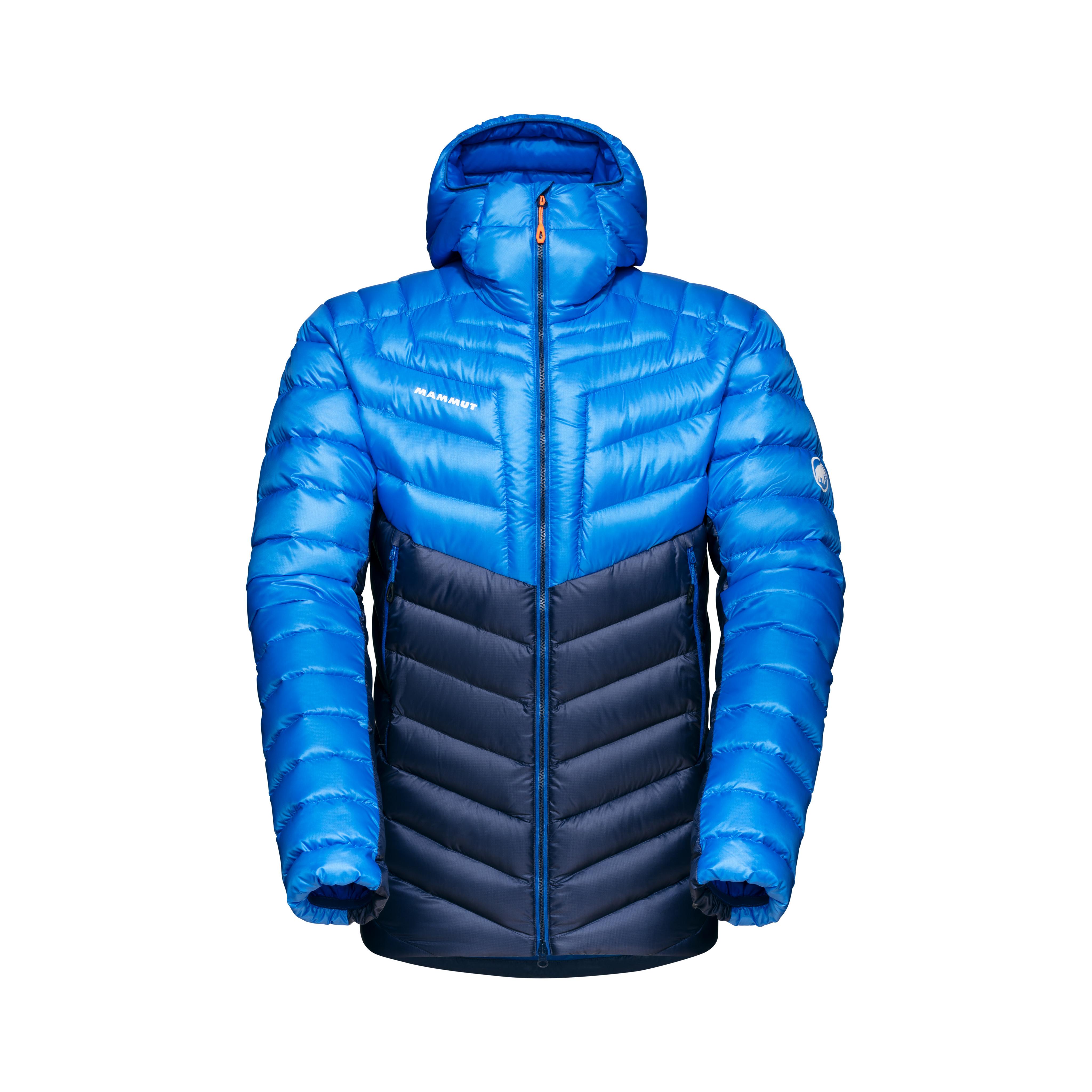 Broad Peak IN Hooded Jacket Men - marine-ice, S thumbnail
