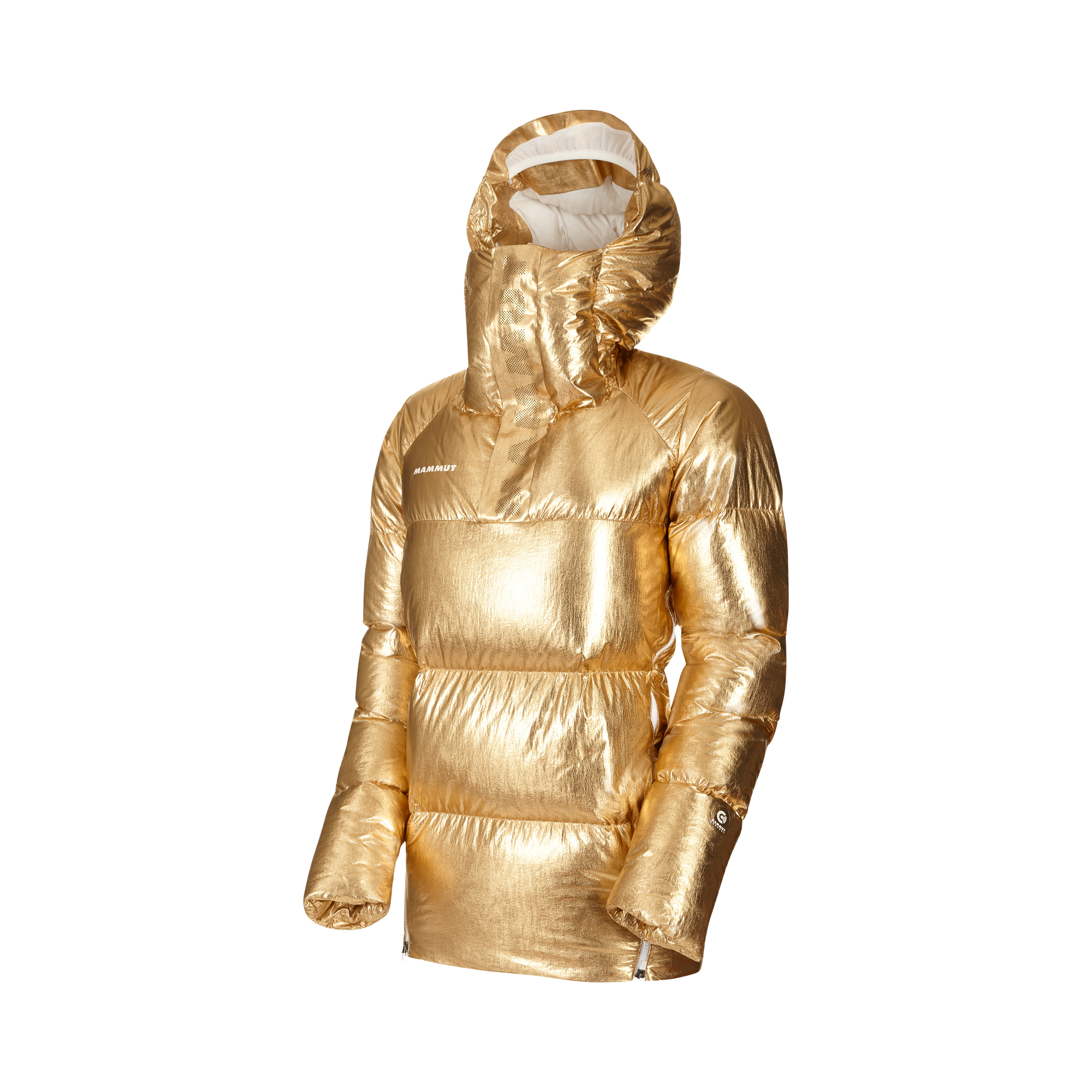 THE IN Anorak - shiny gold, XS thumbnail