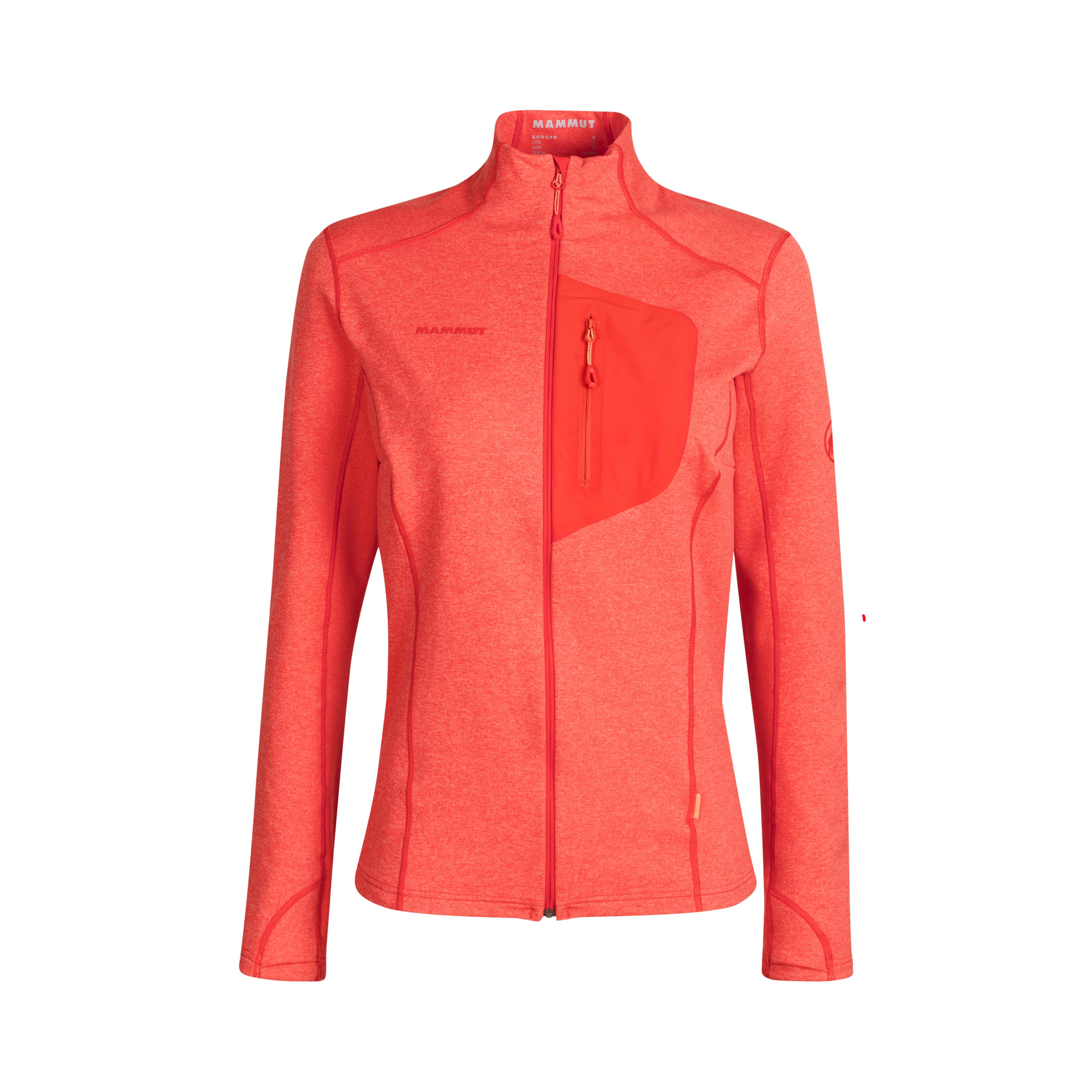 Aconcagua Light ML Jacket Women - poinciana, XS thumbnail
