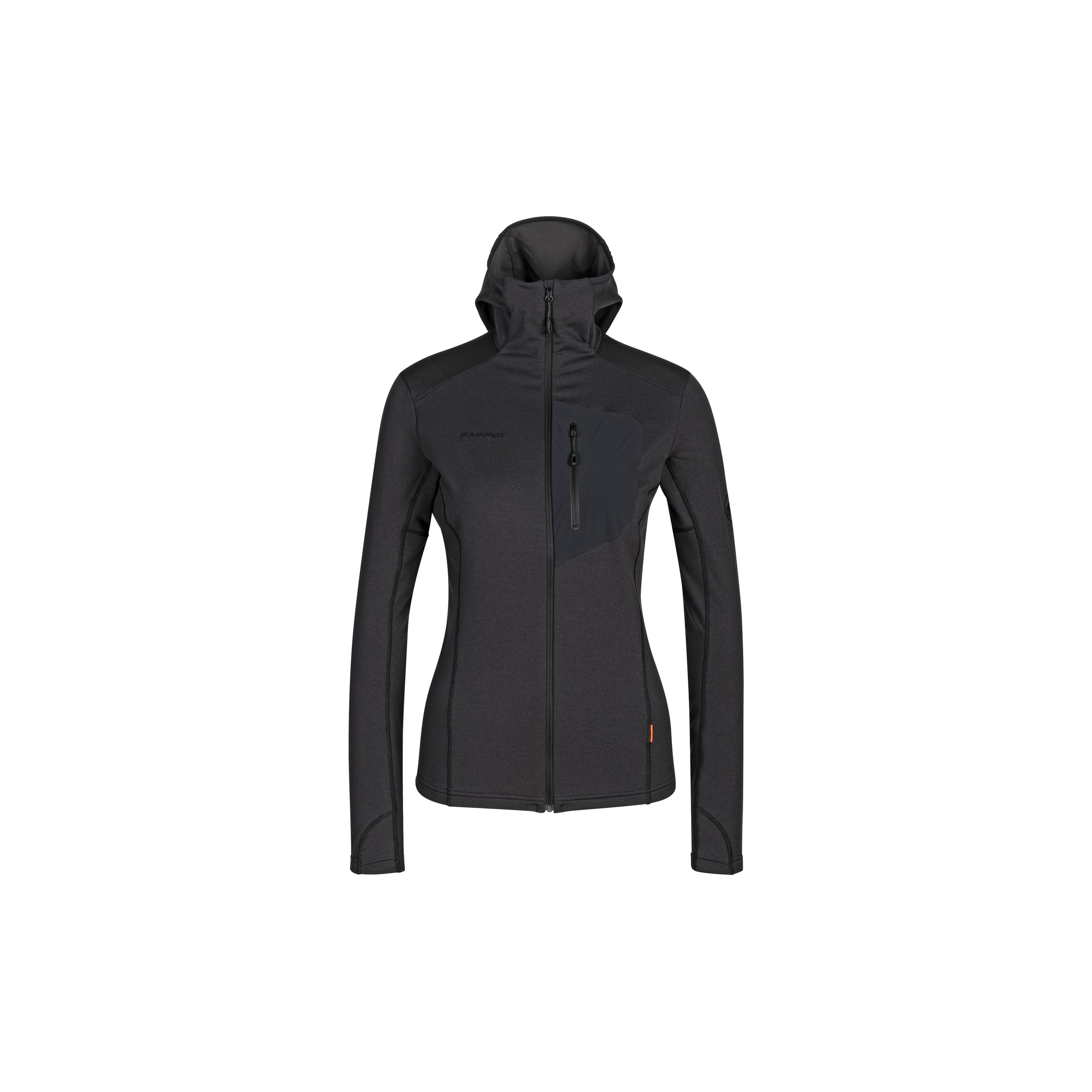 Aconcagua Light ML Hooded Jacket Women - black-black, XS thumbnail