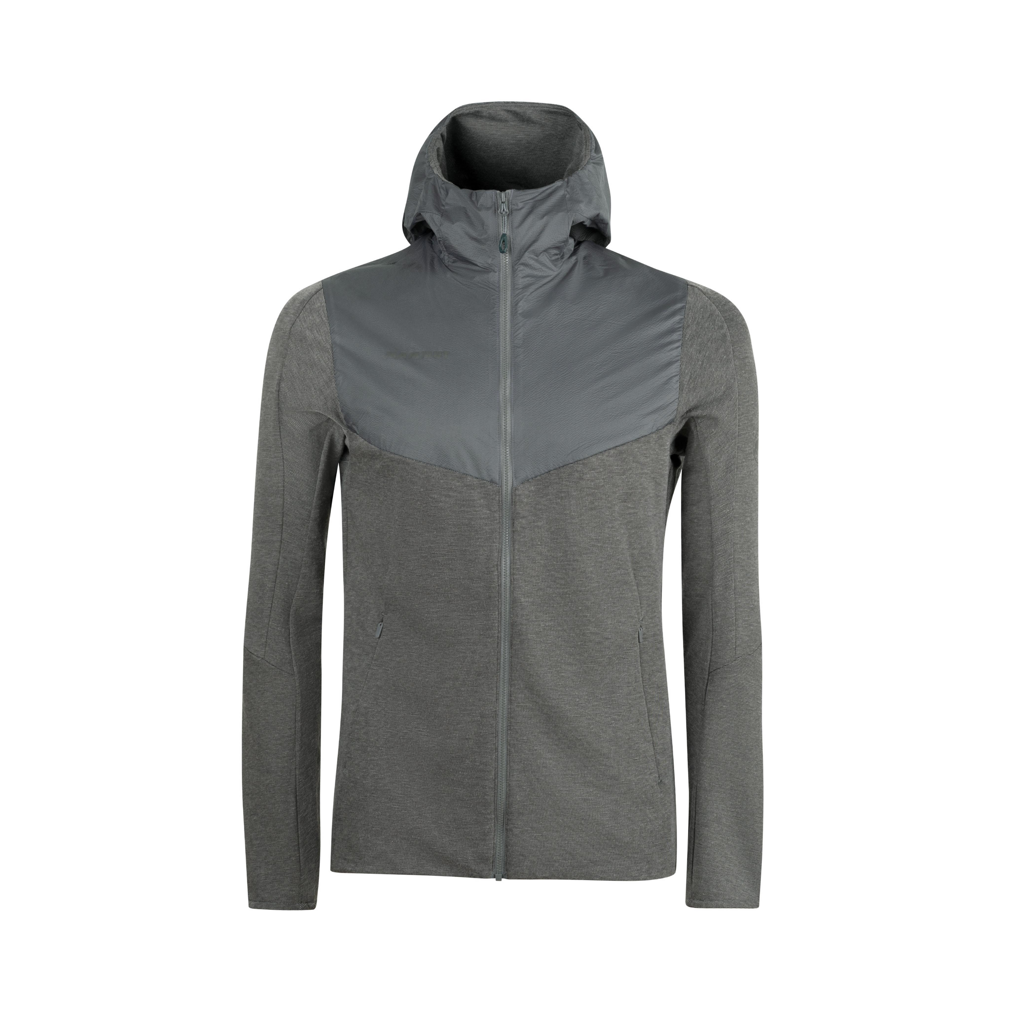 Alvra ML Hooded Jacket Men - S, titanium melange-titanium thumbnail