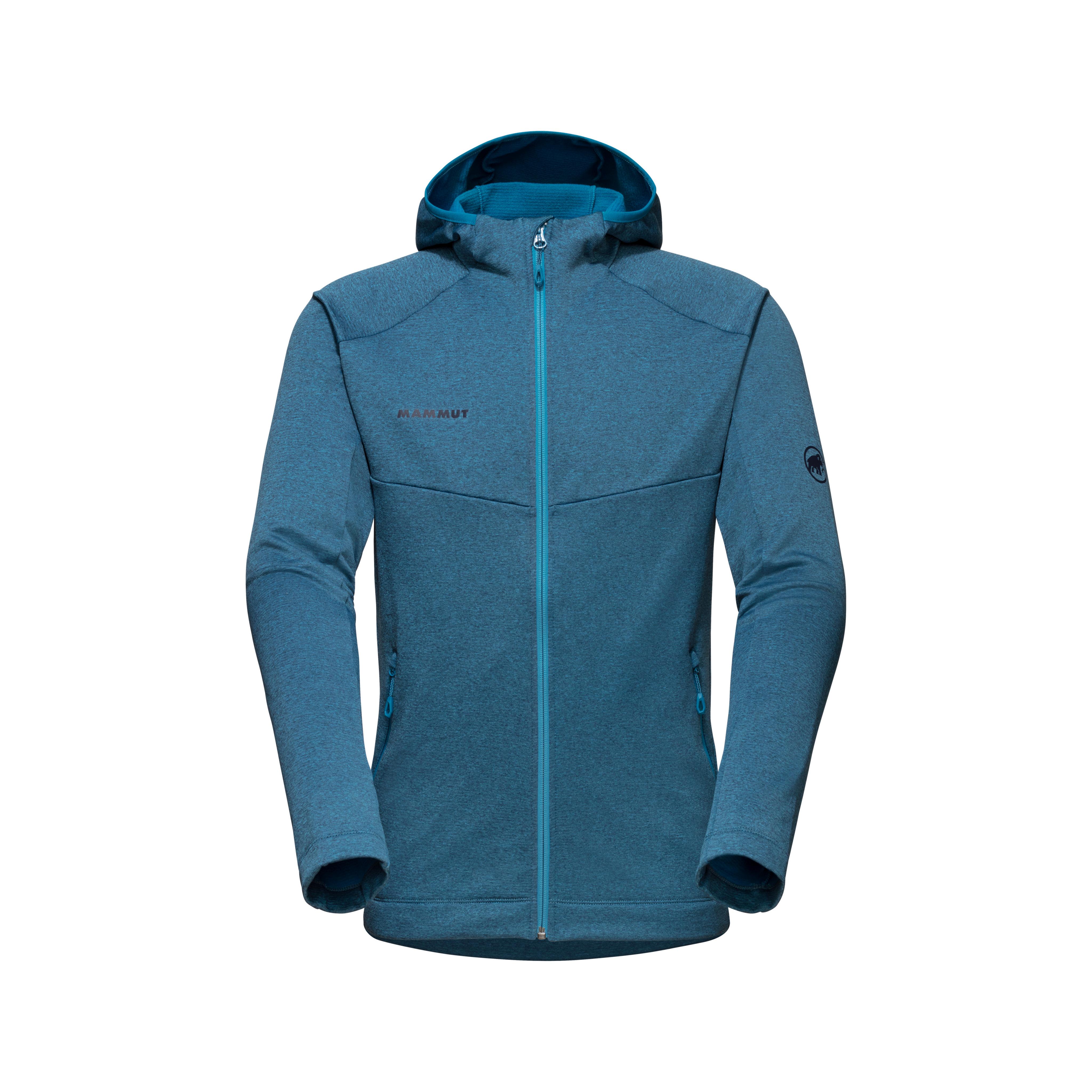 Nair ML Hooded Jacket Men - 3XL, sapphire melange thumbnail