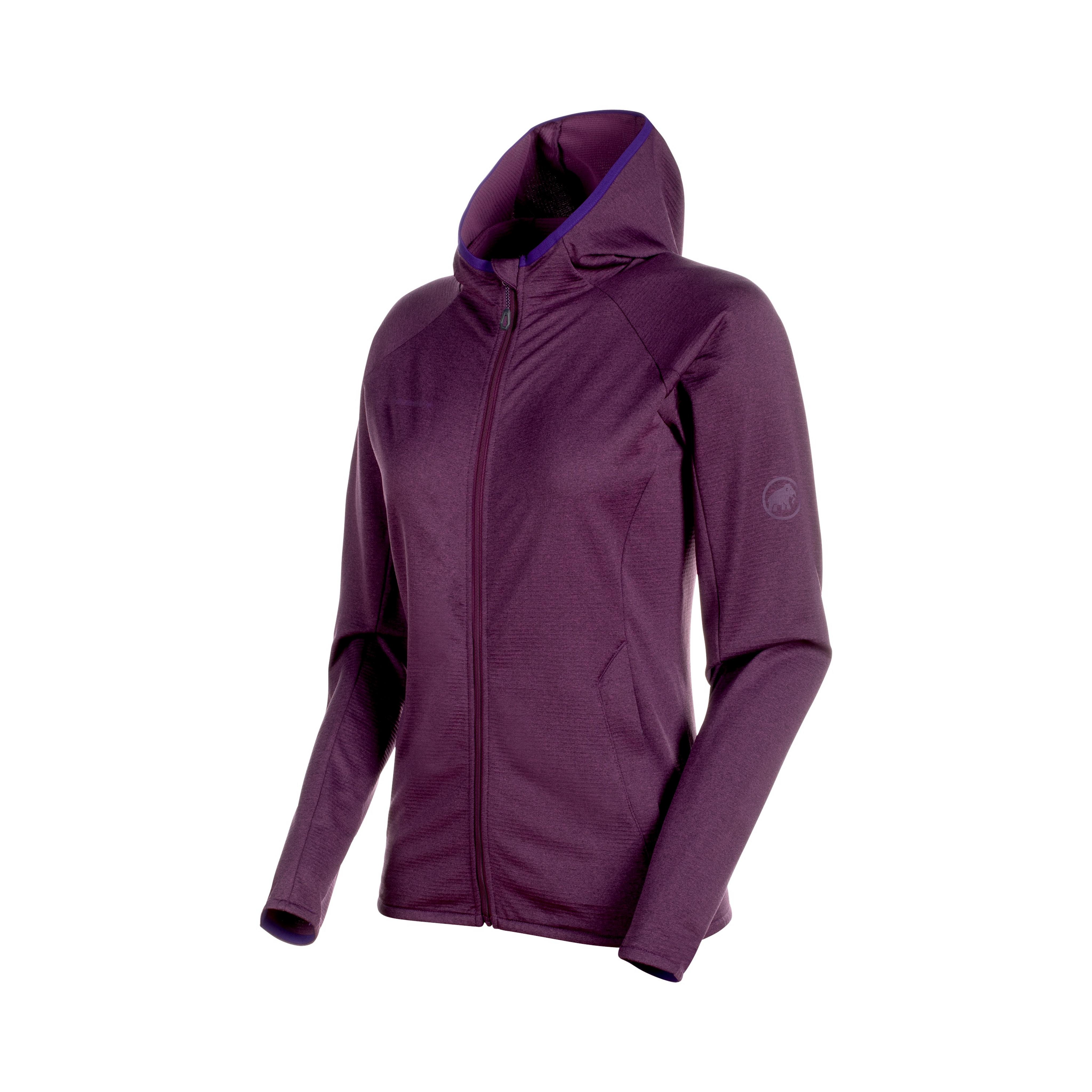 Nair ML Hooded Jacket Women - galaxy melange, L product image