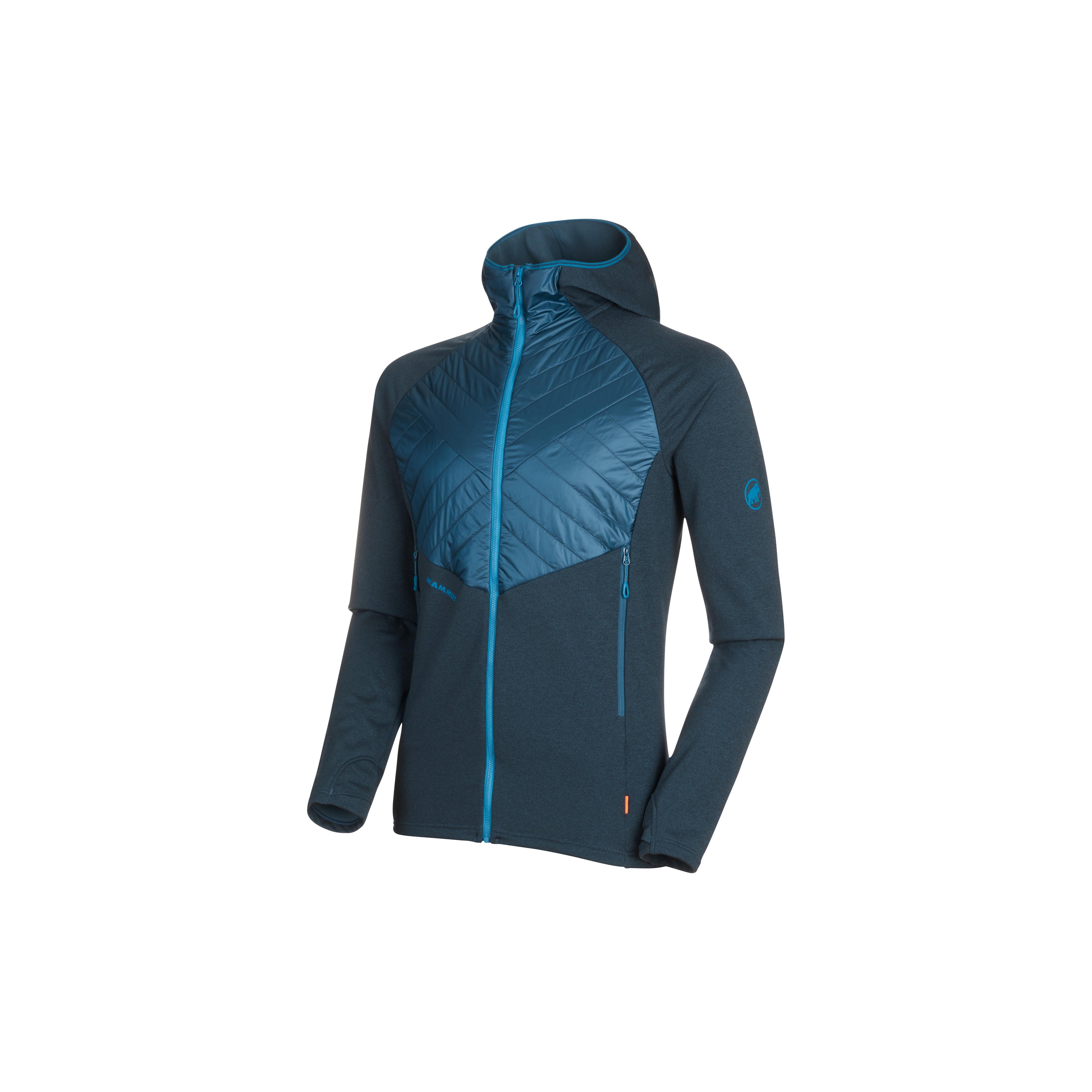 Aconcagua Light Hybrid ML Hooded Jacket Men - S, wing teal thumbnail