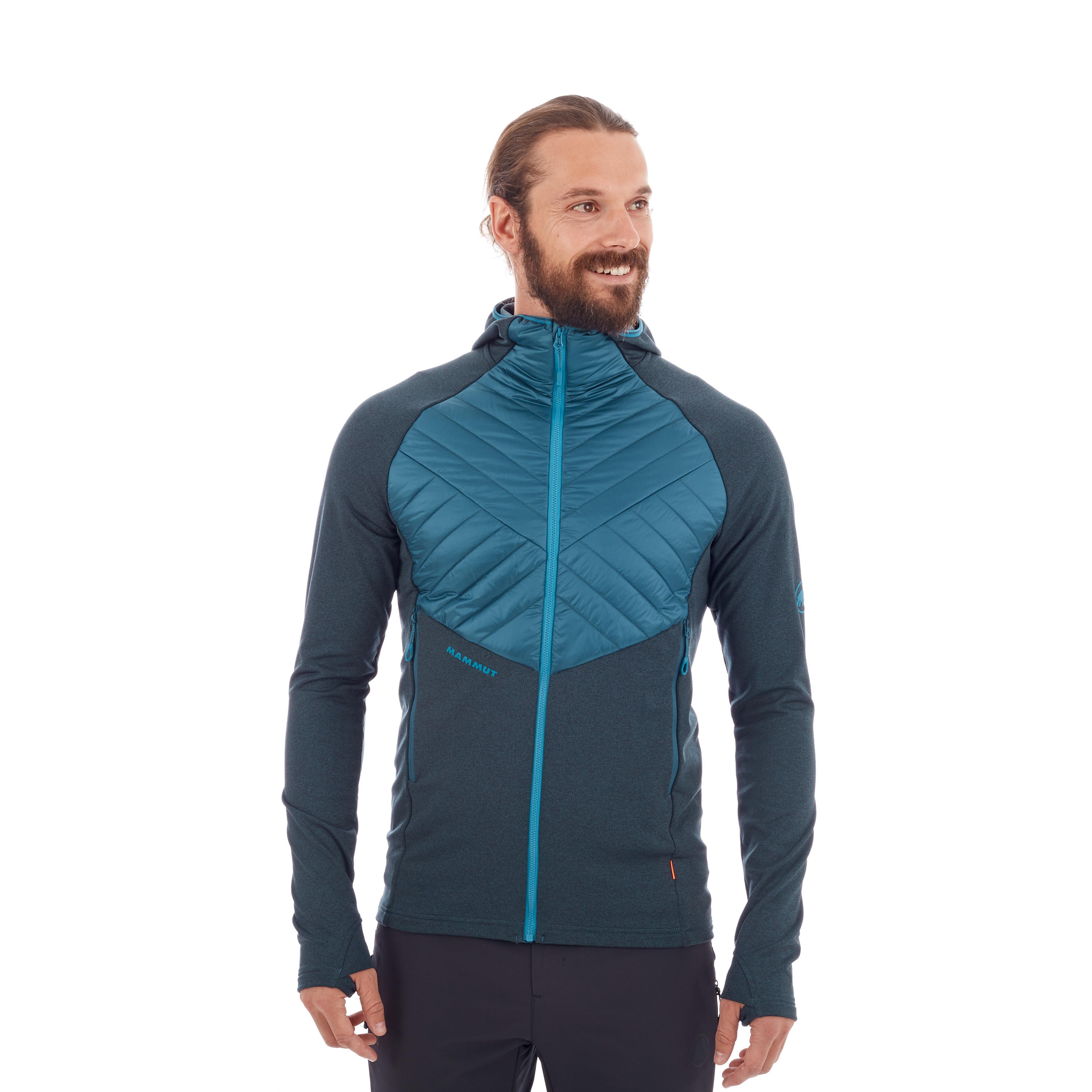 Aconcagua Light Hybrid ML Hooded Jacket Men thumbnail