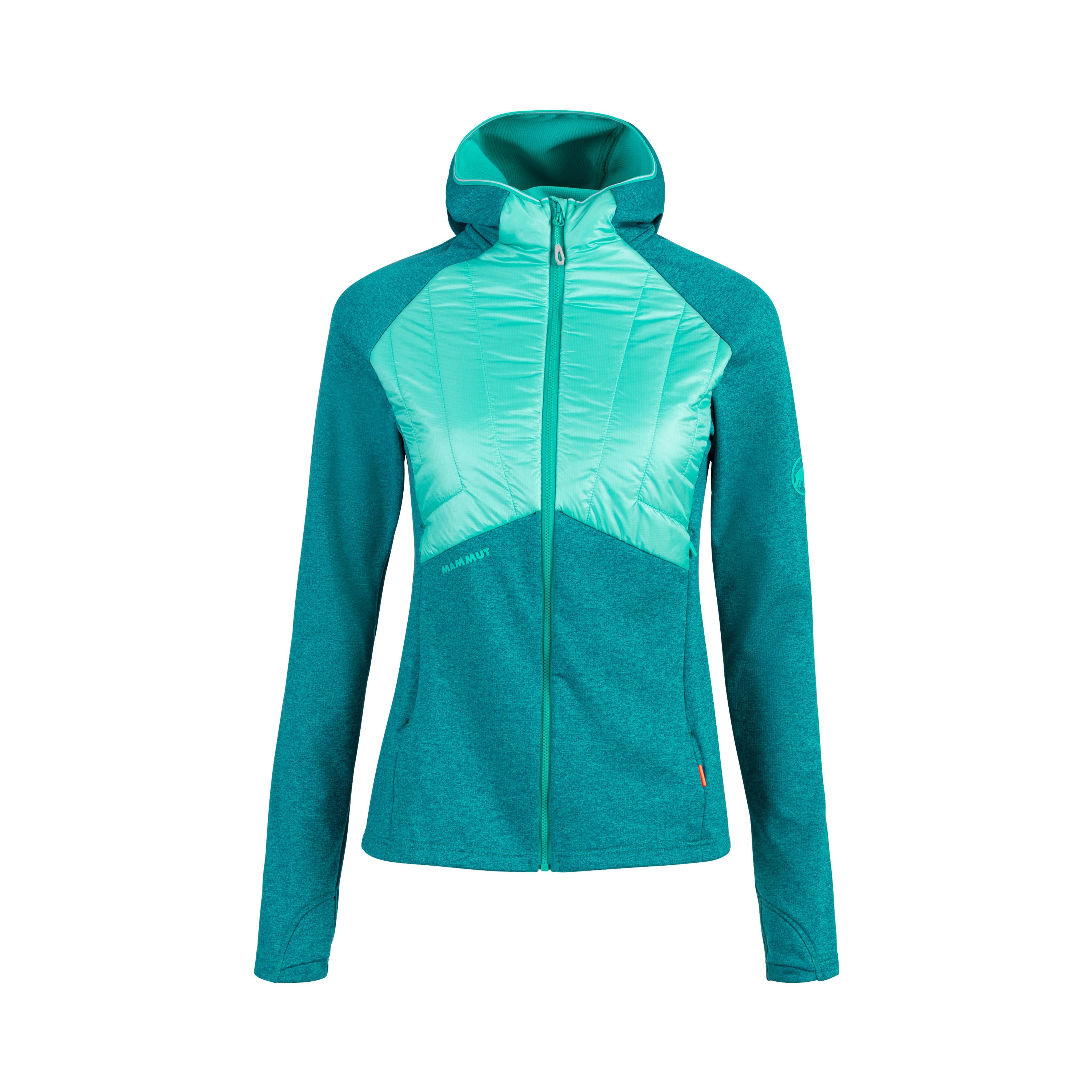 Aconcagua Light Hybrid ML Hooded Jacket Women - dark ceramic-ceramic, XS thumbnail