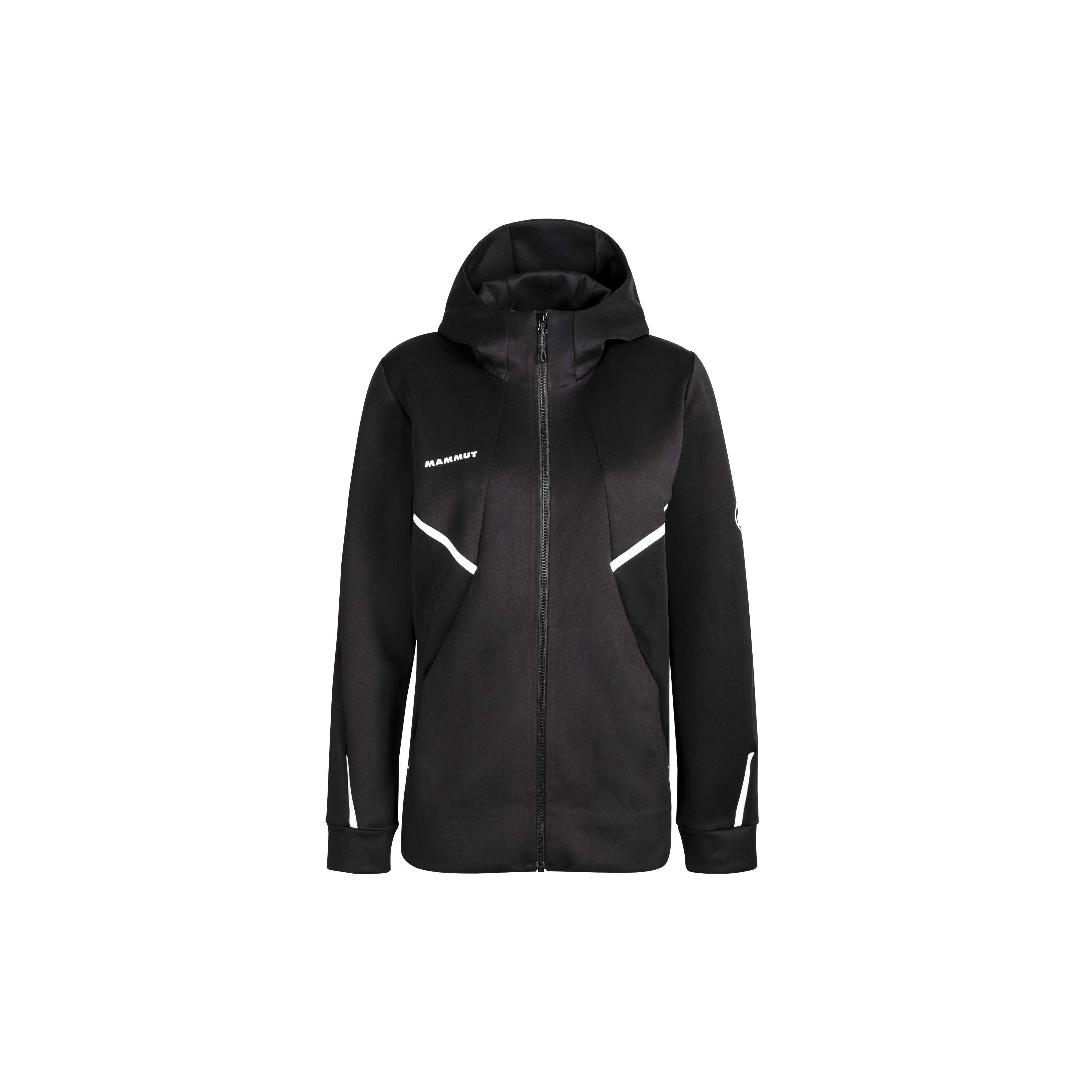 Avers ML Hooded Jacket Men - black, S thumbnail