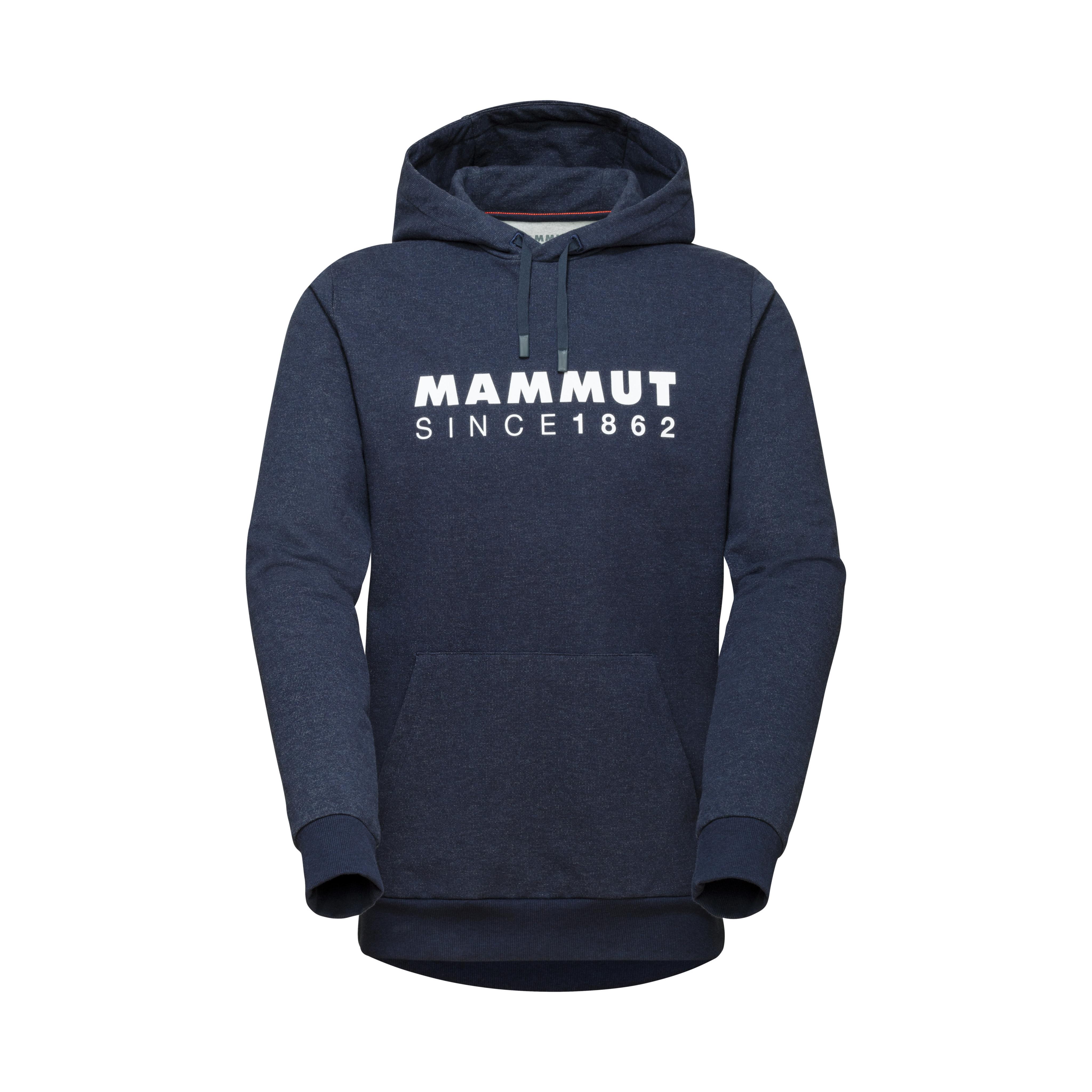 Mammut Logo ML Hoody Men - marine melange PRT2, S thumbnail