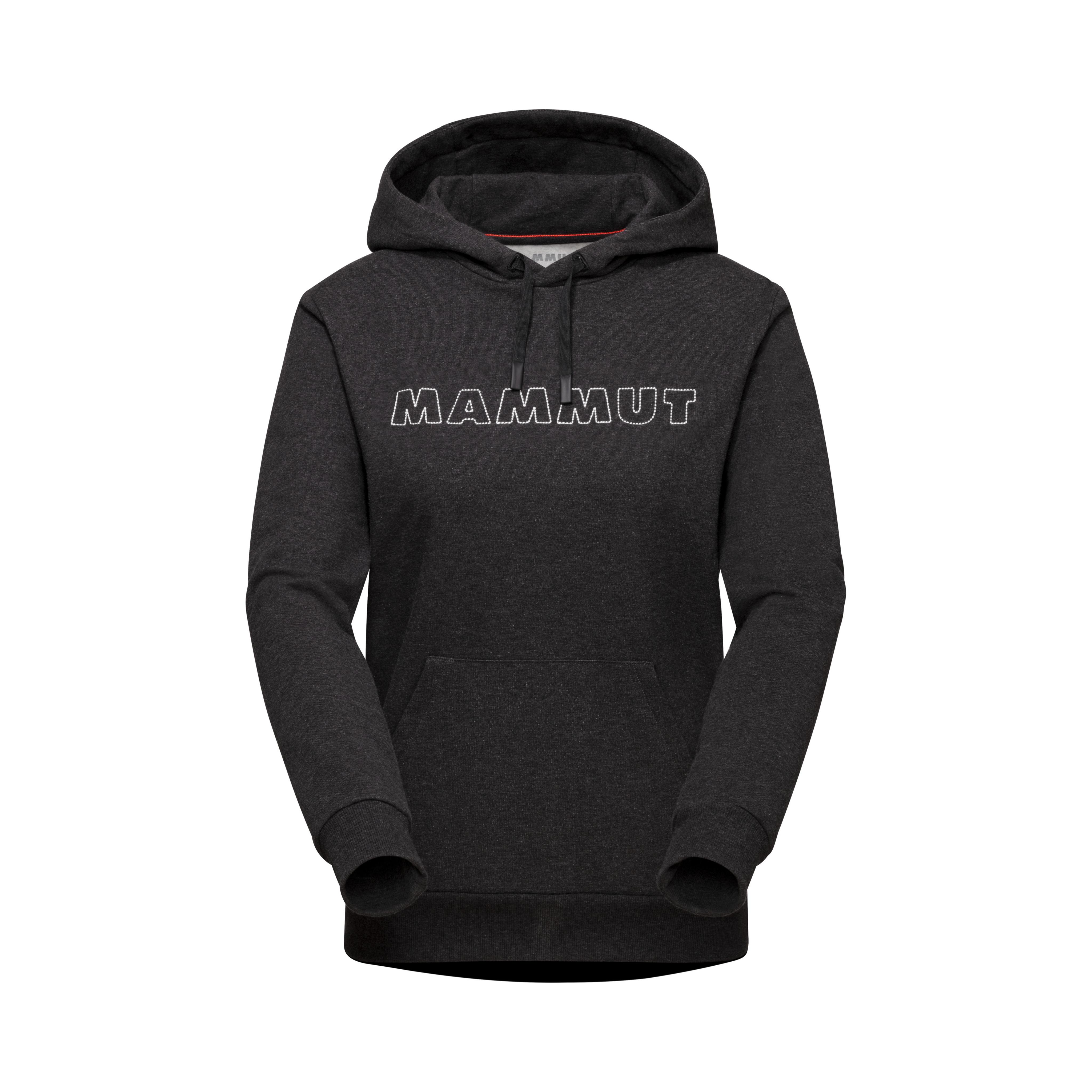 Mammut Logo ML Hoody Women - black mélange, XS thumbnail