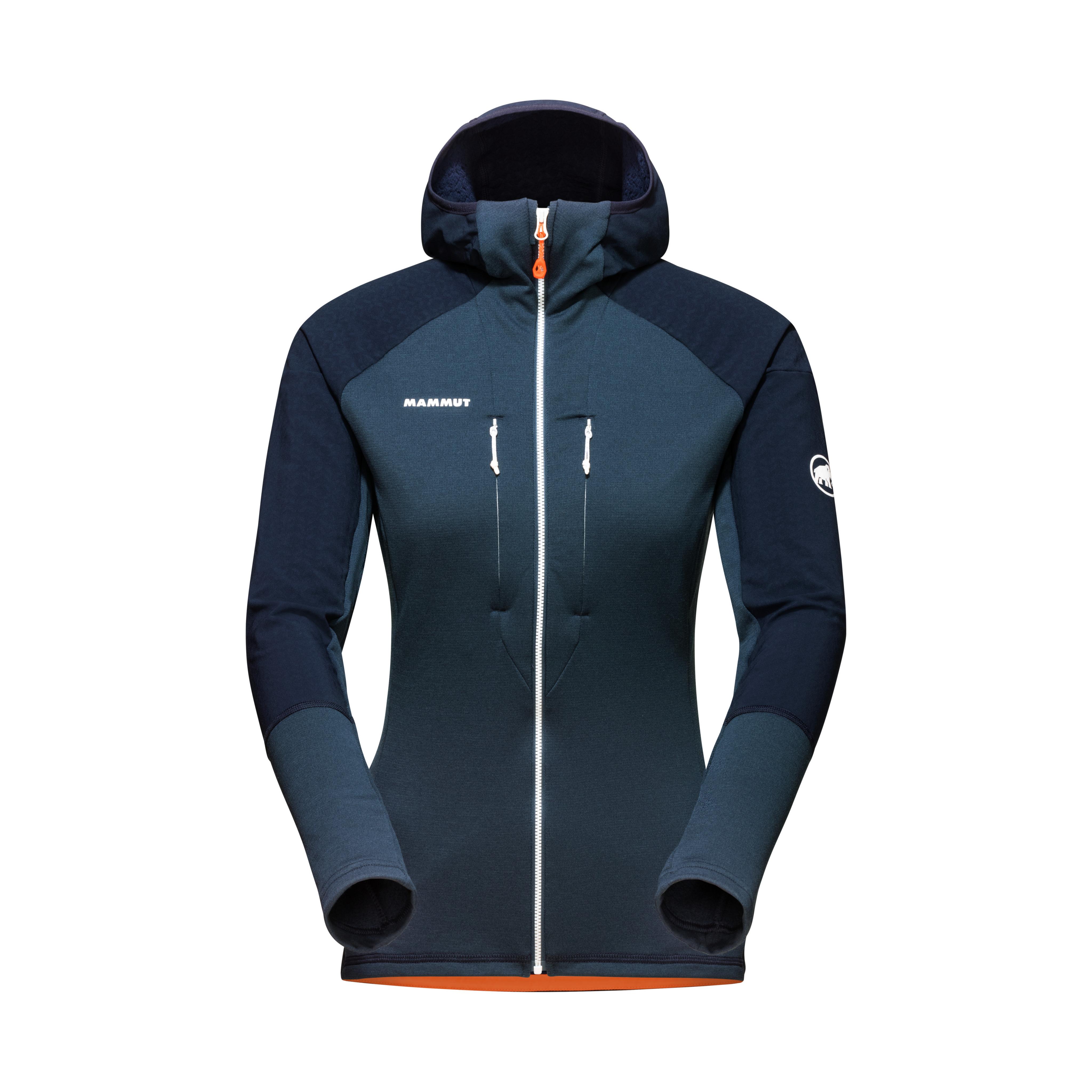 Eiswand Advanced ML Hooded Jacket Women - night, XS thumbnail