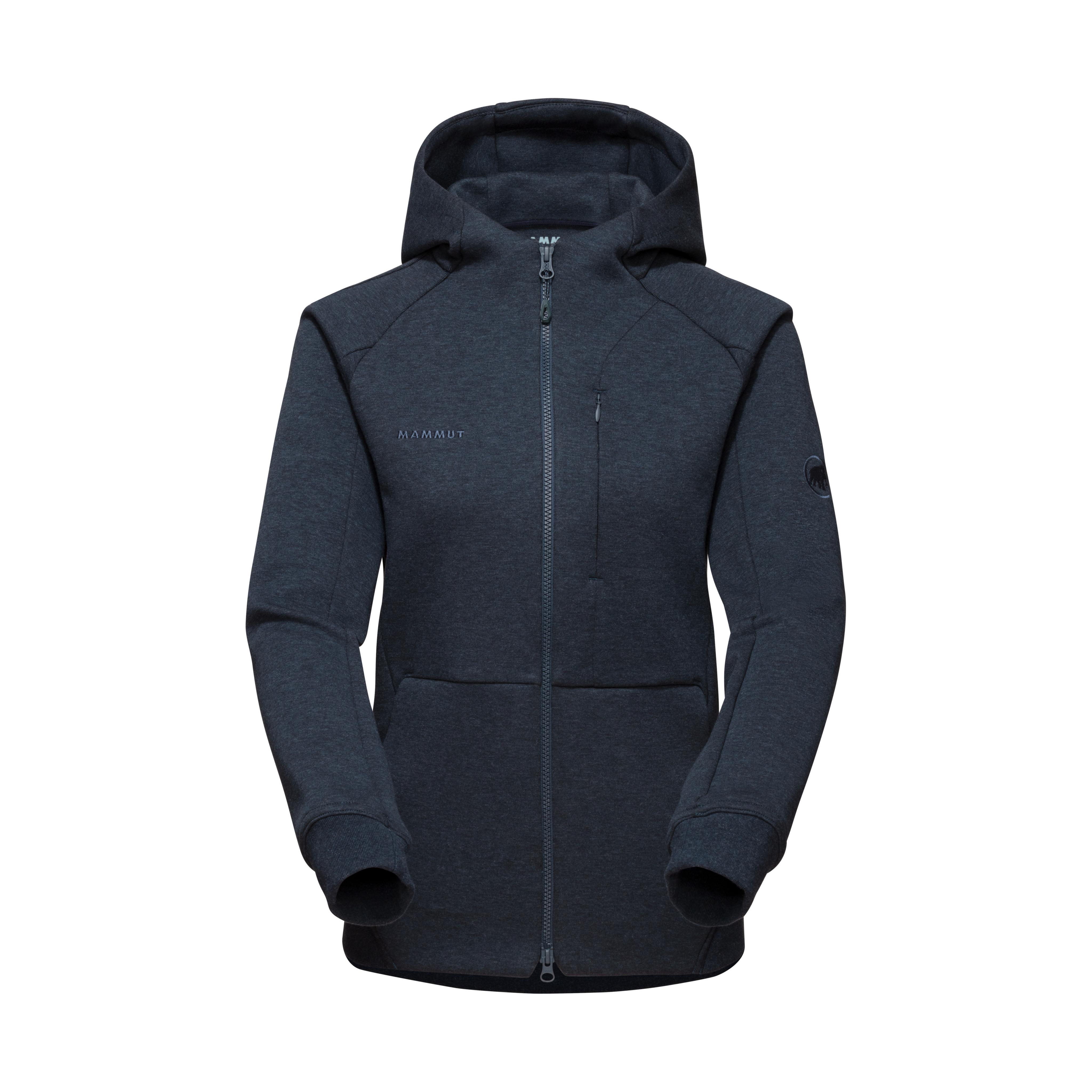 Dyno ML Hooded Jacket Women - marine melange, XS thumbnail