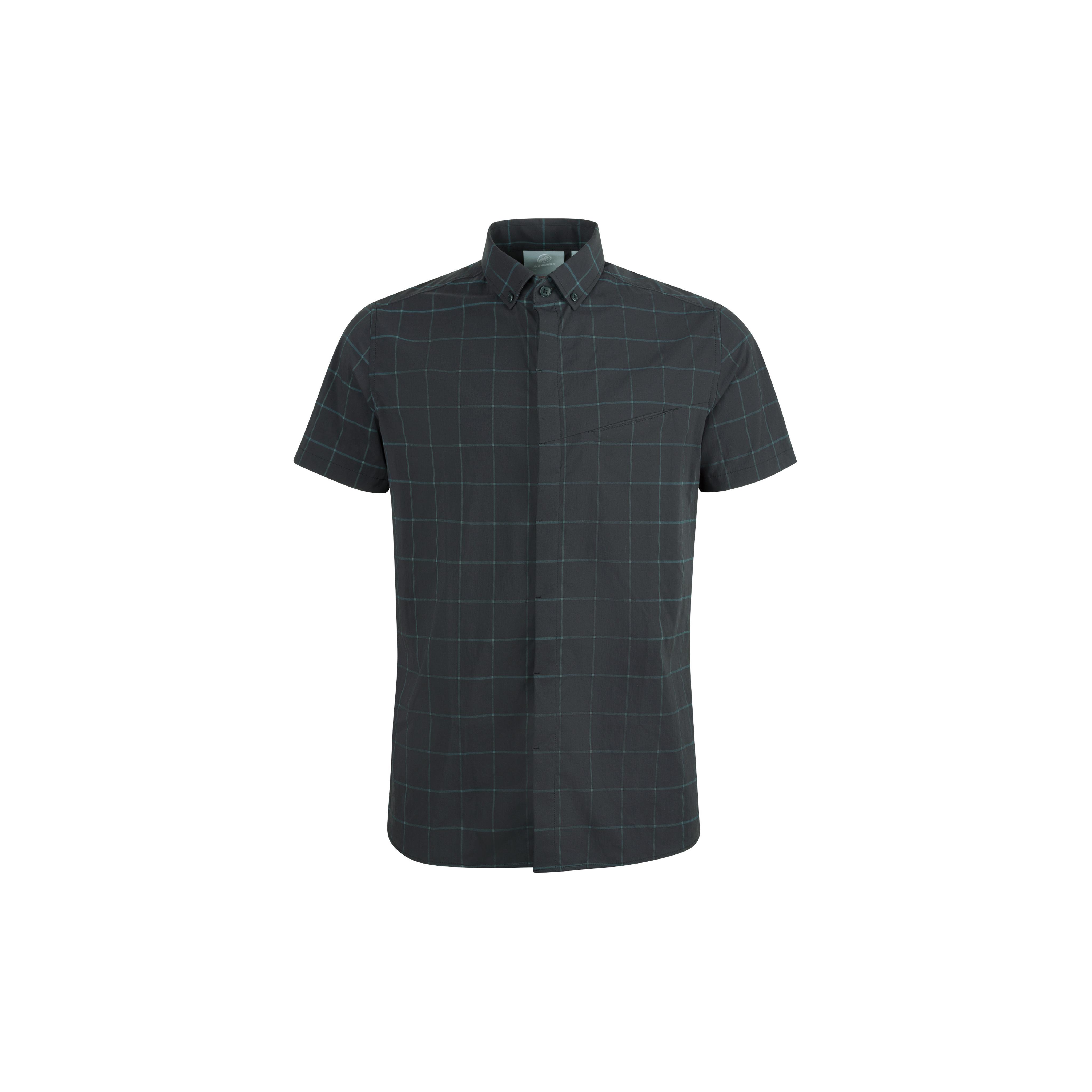 Mountain Shirt Men - black-dark ocean, S thumbnail