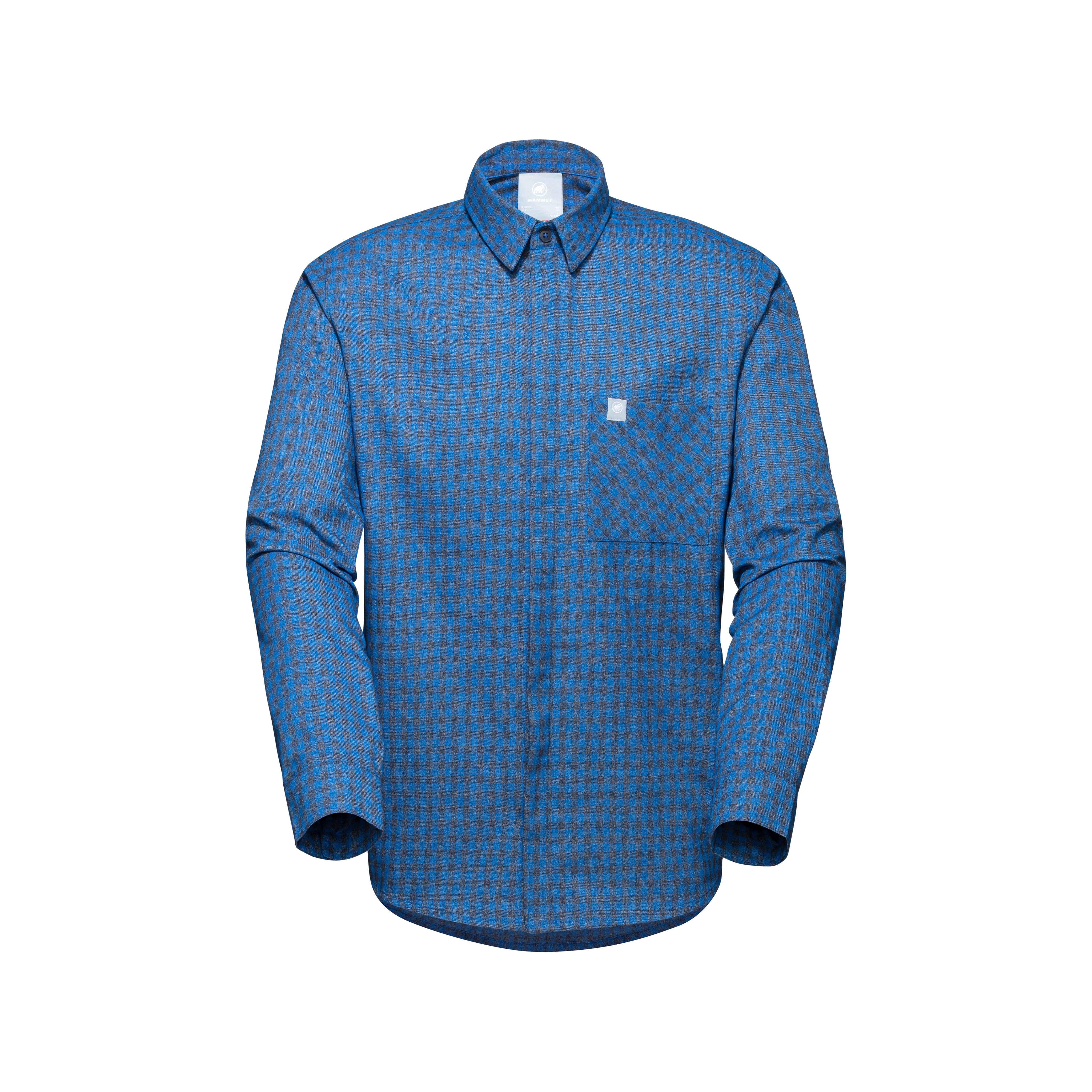 Winter Longsleeve Shirt Men - ice-marine, S thumbnail