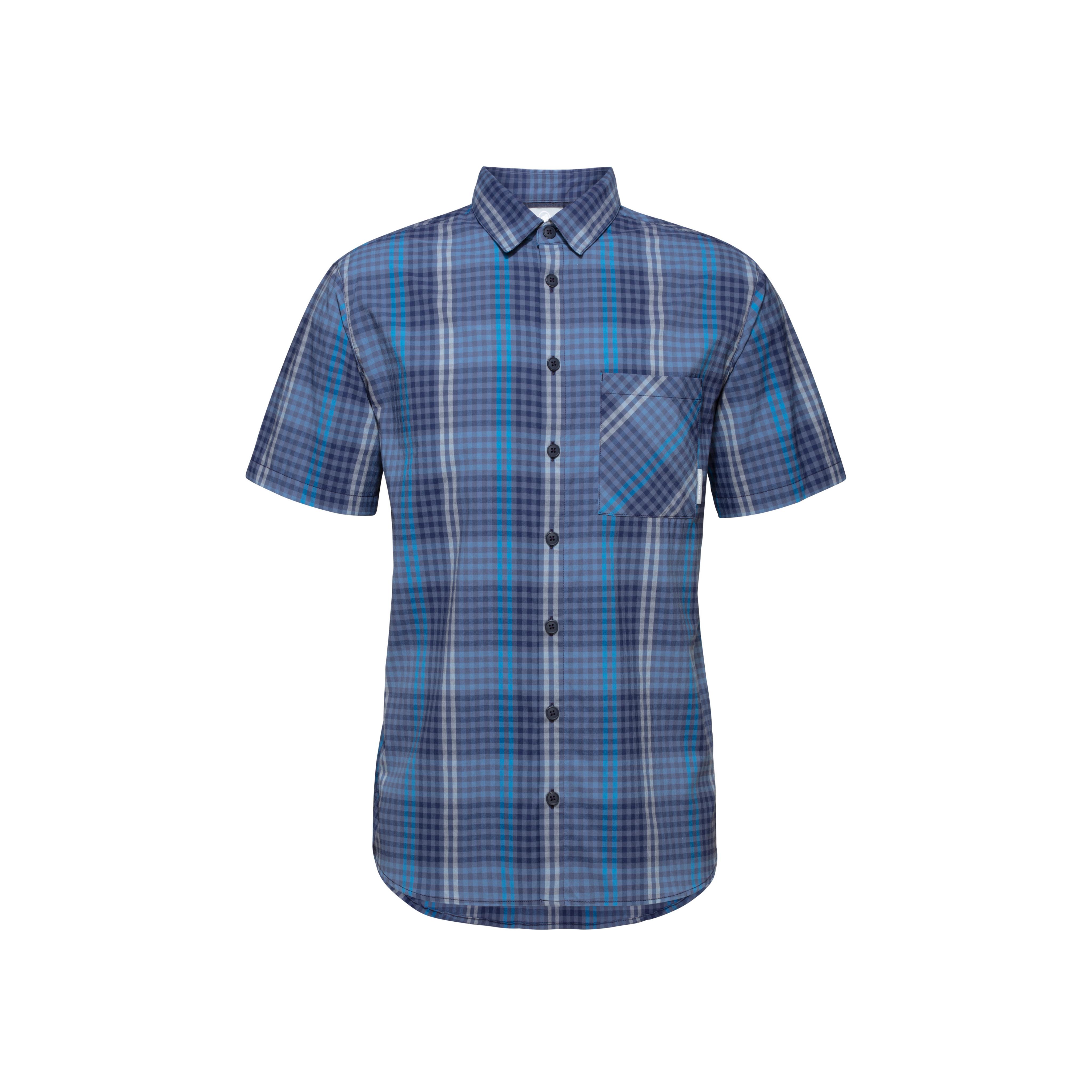 Calanca Shirt Men - peacoat-horizon, S thumbnail