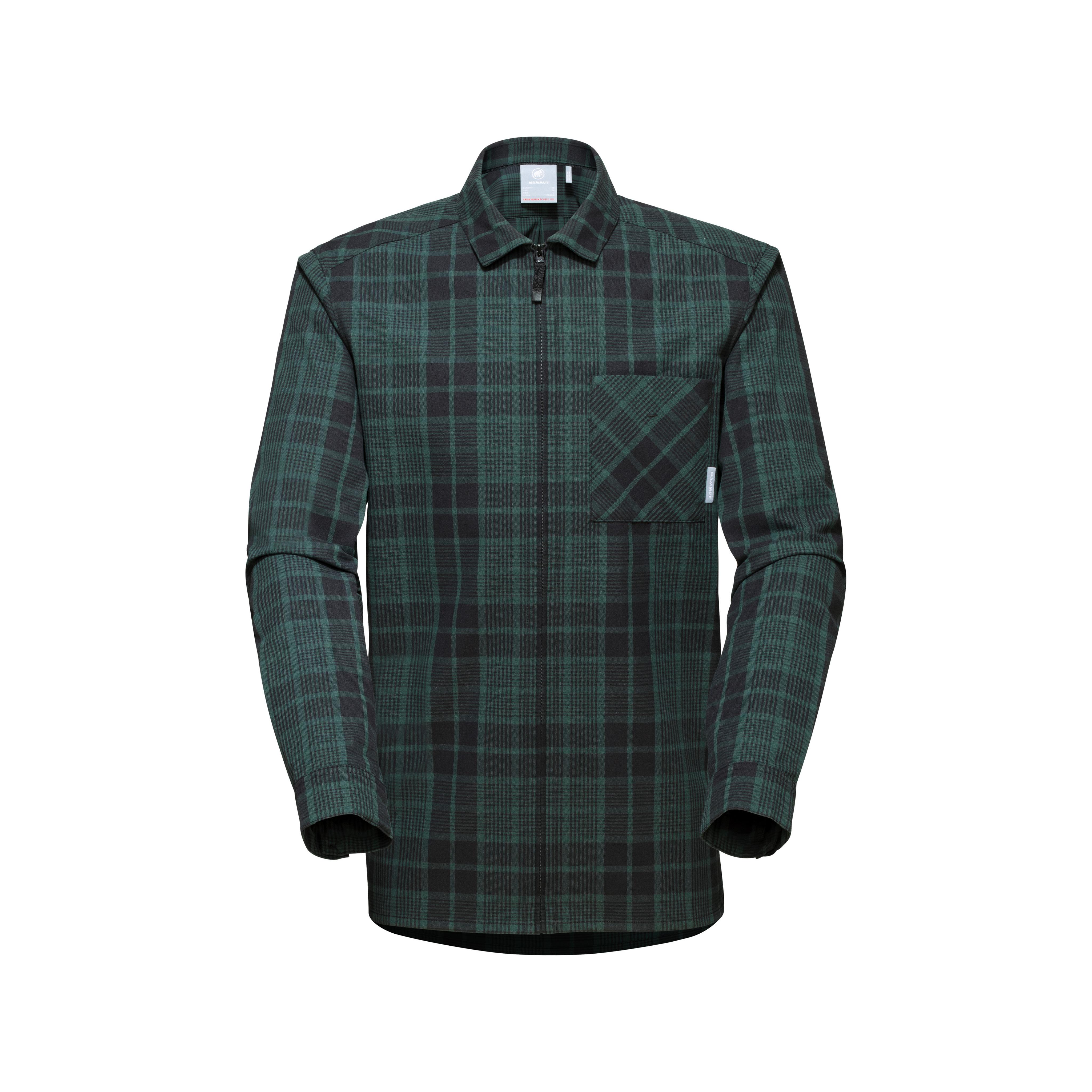 Tamaro Longsleeve Shirt Men - dark teal-black, S thumbnail