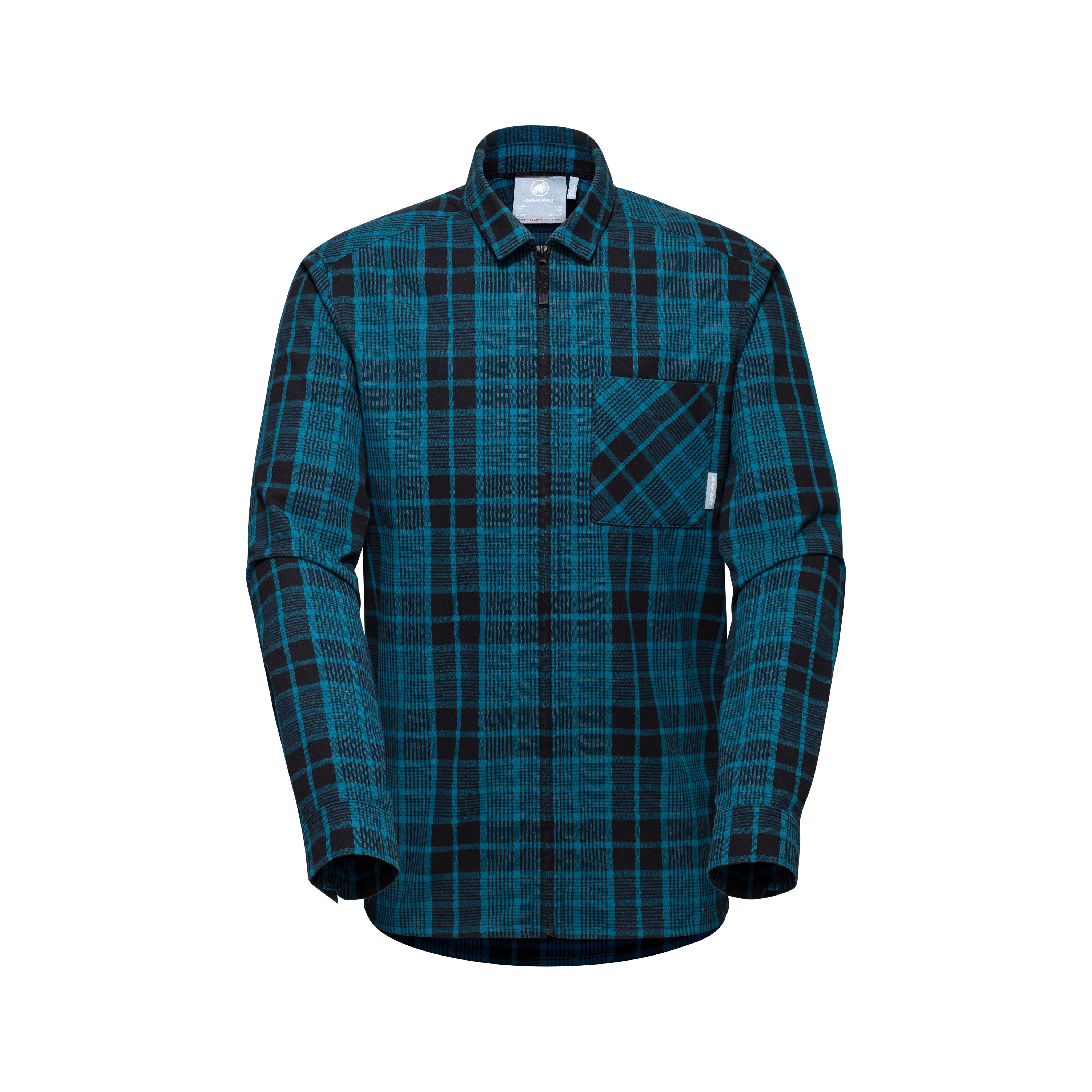 Tamaro Longsleeve Shirt Men - S, sapphire-black thumbnail