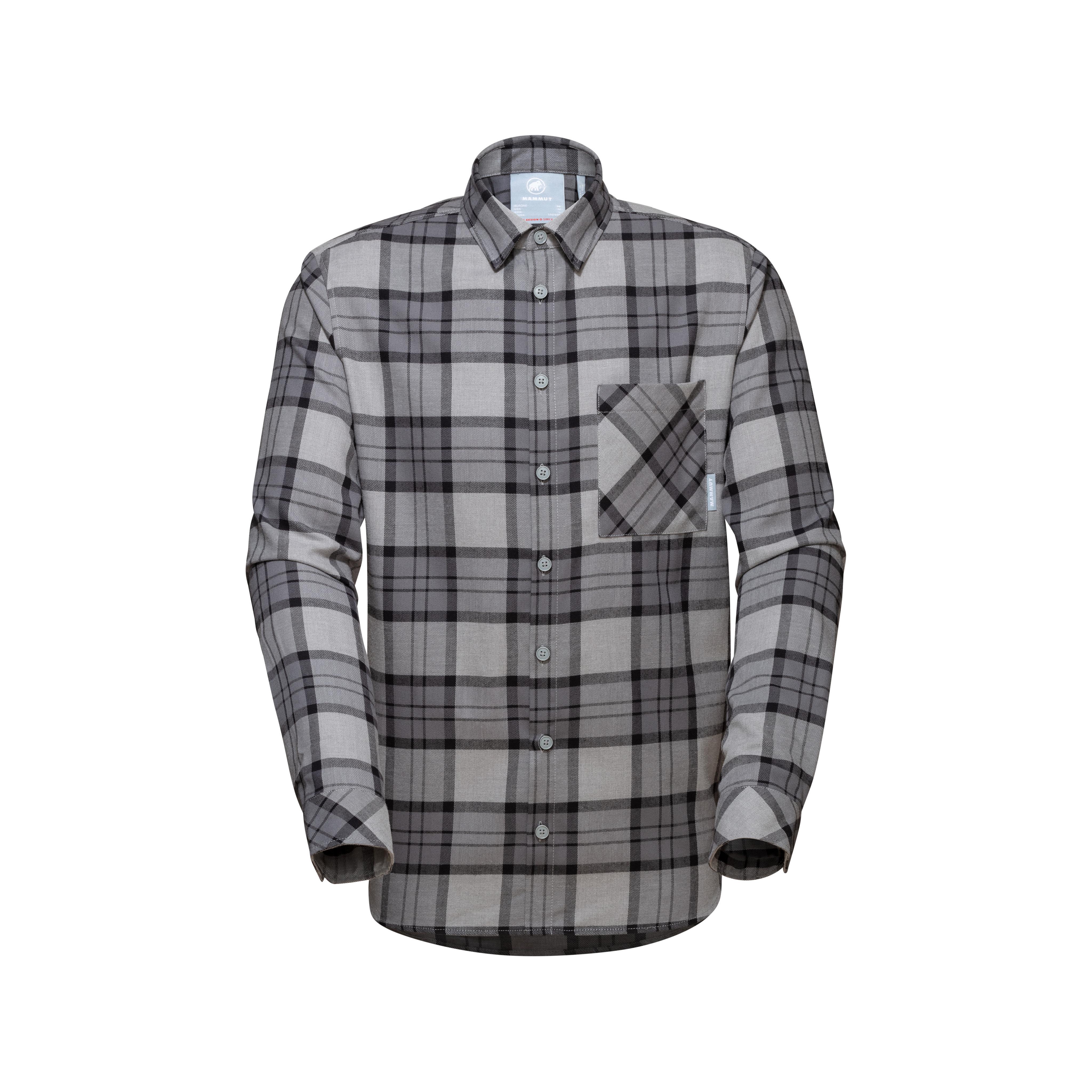 Trovat Longsleeve Shirt Men - granit-titanium, S thumbnail
