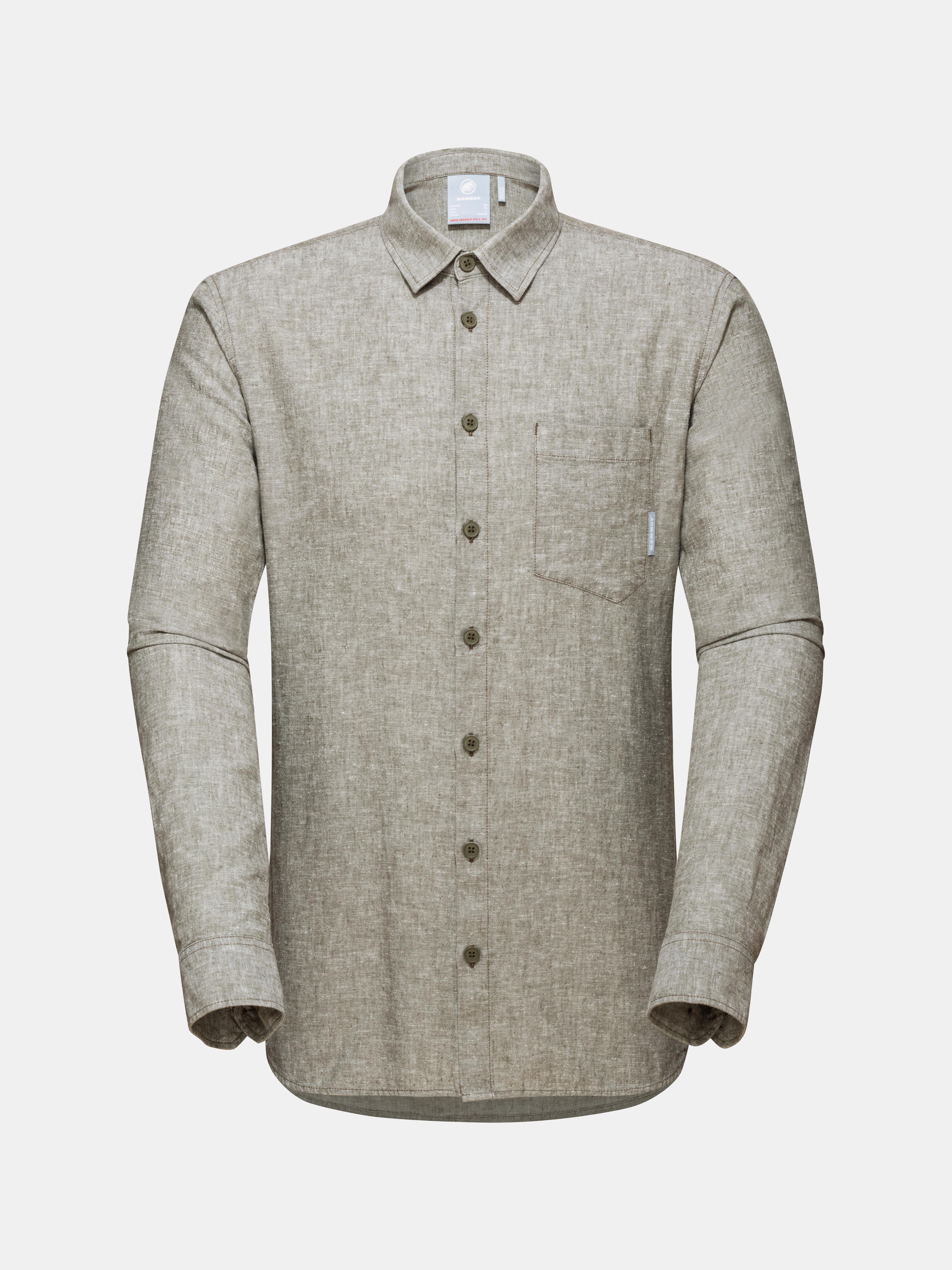 Mammut Hemp Longsleeve Shirt Men image