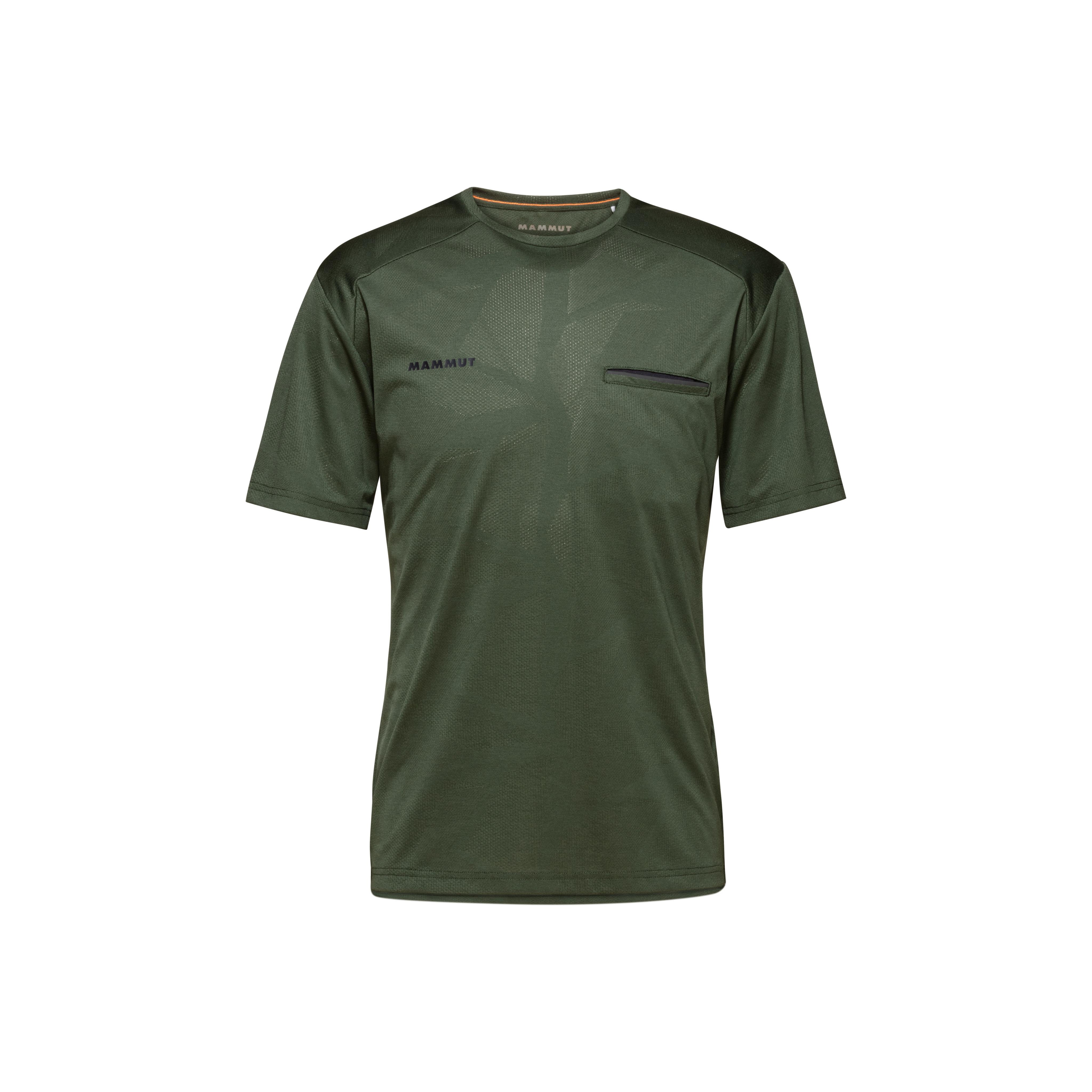 Crashiano T-Shirt Men - S, woods melange thumbnail