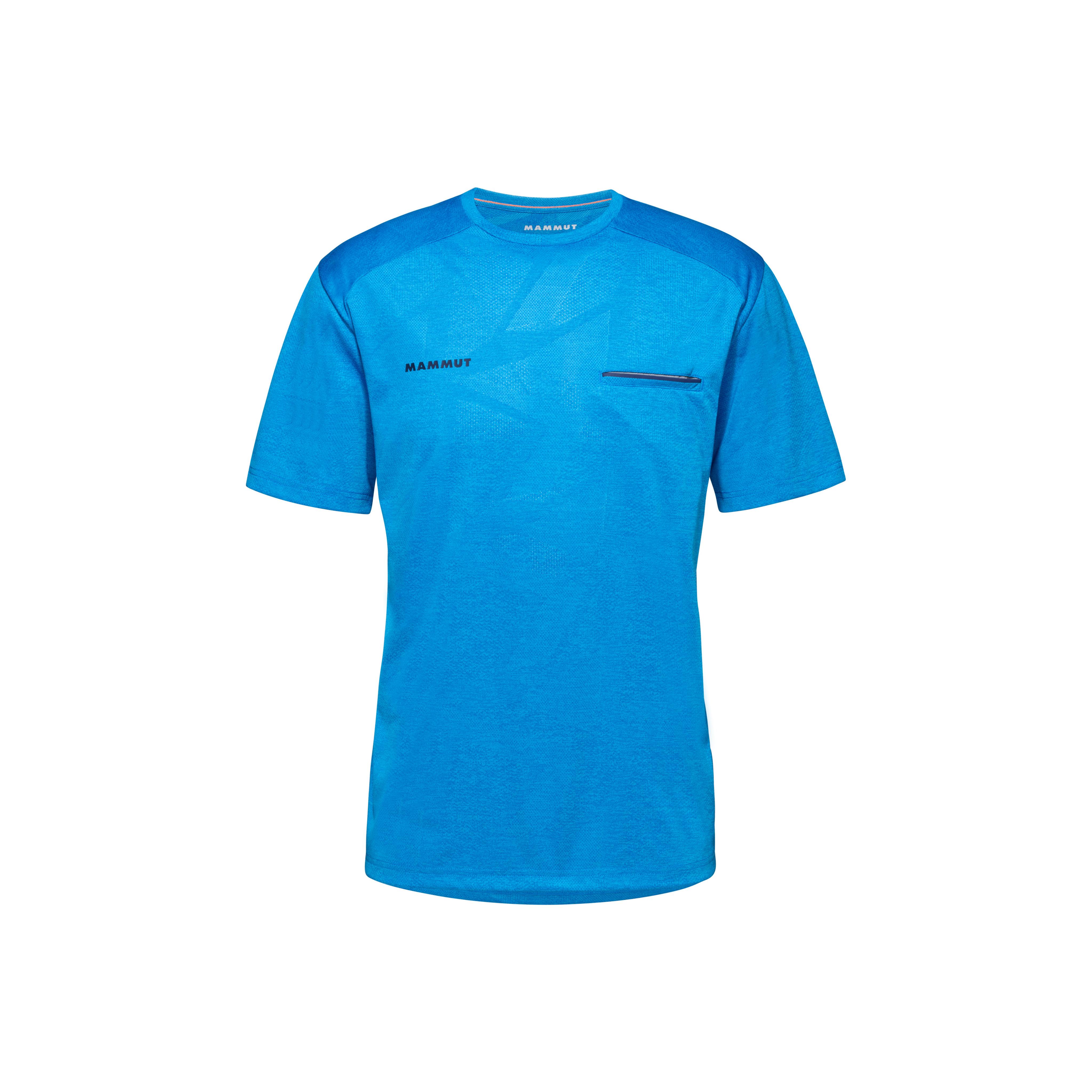 Crashiano T-Shirt Men - gentian melange, S thumbnail