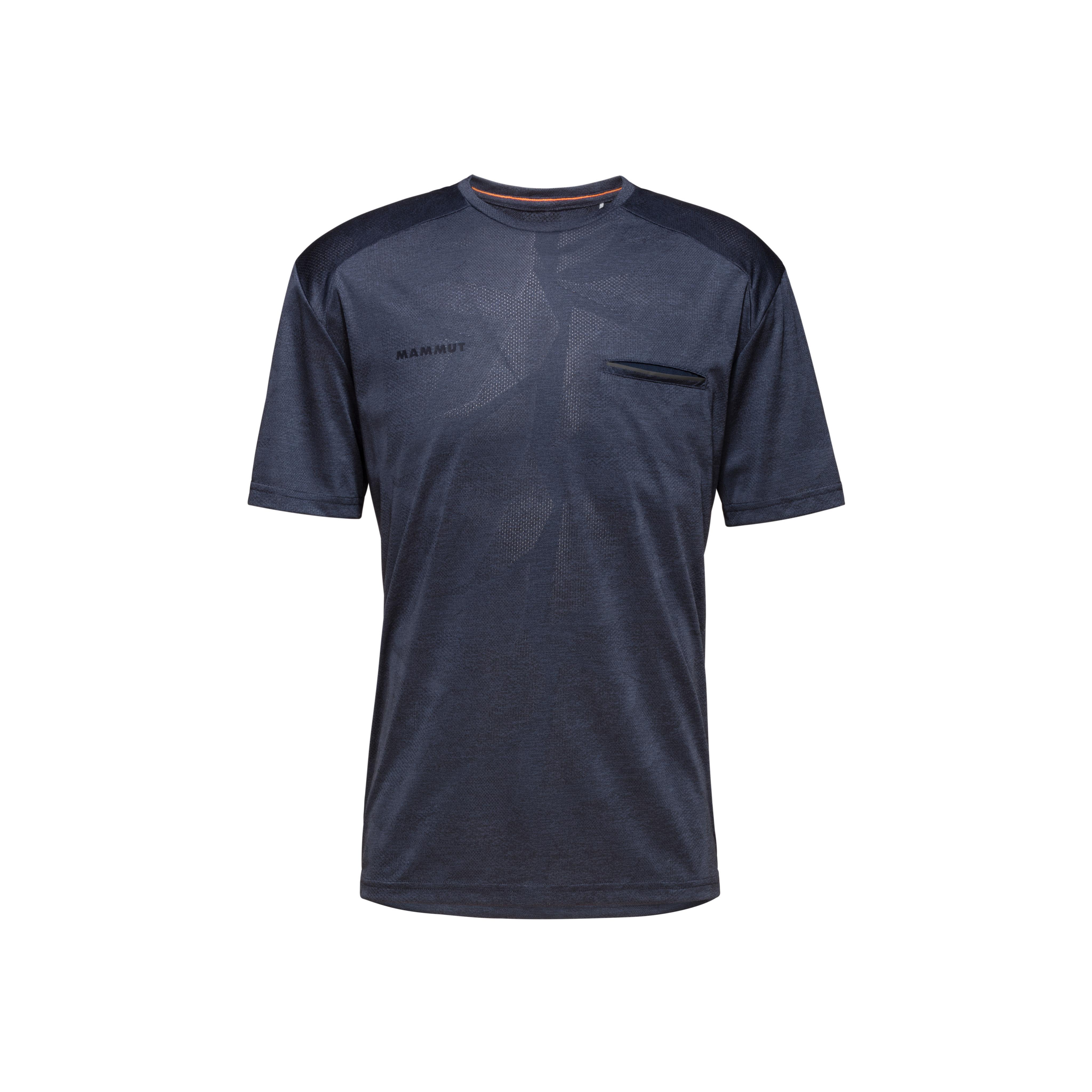Crashiano T-Shirt Men - marine melange, S thumbnail