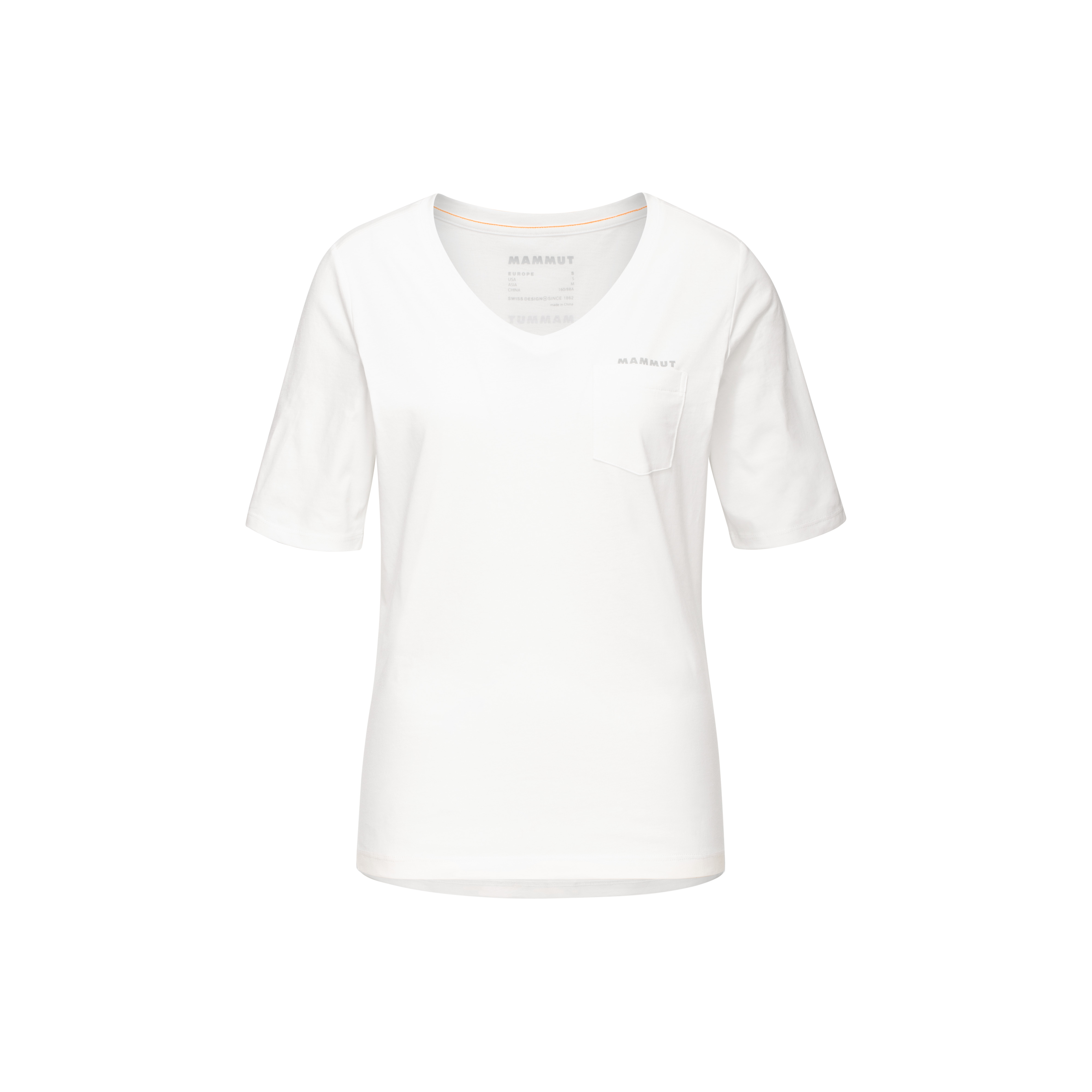 Mammut Pocket T-Shirt Women - white, XS thumbnail