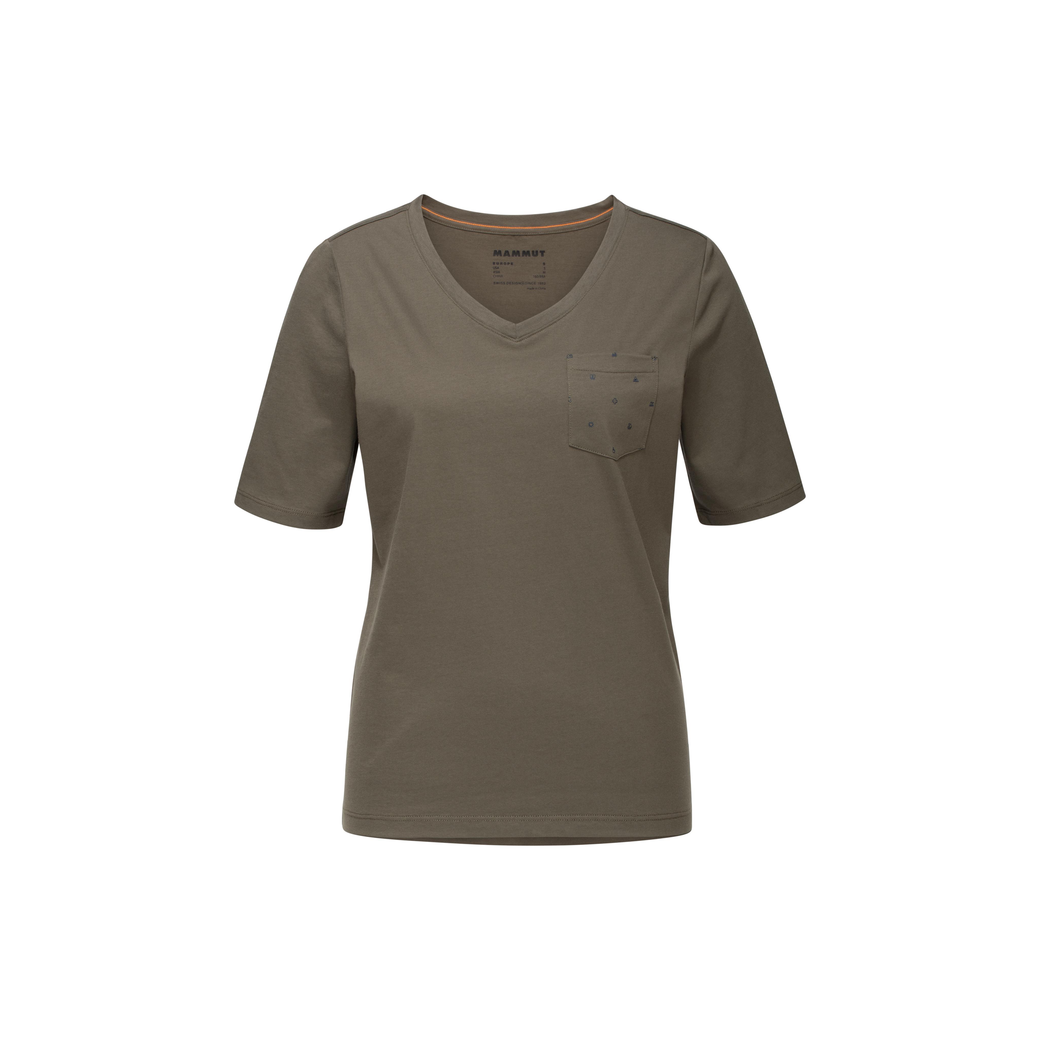 Mammut Pocket T-Shirt Women - iguana, XS thumbnail