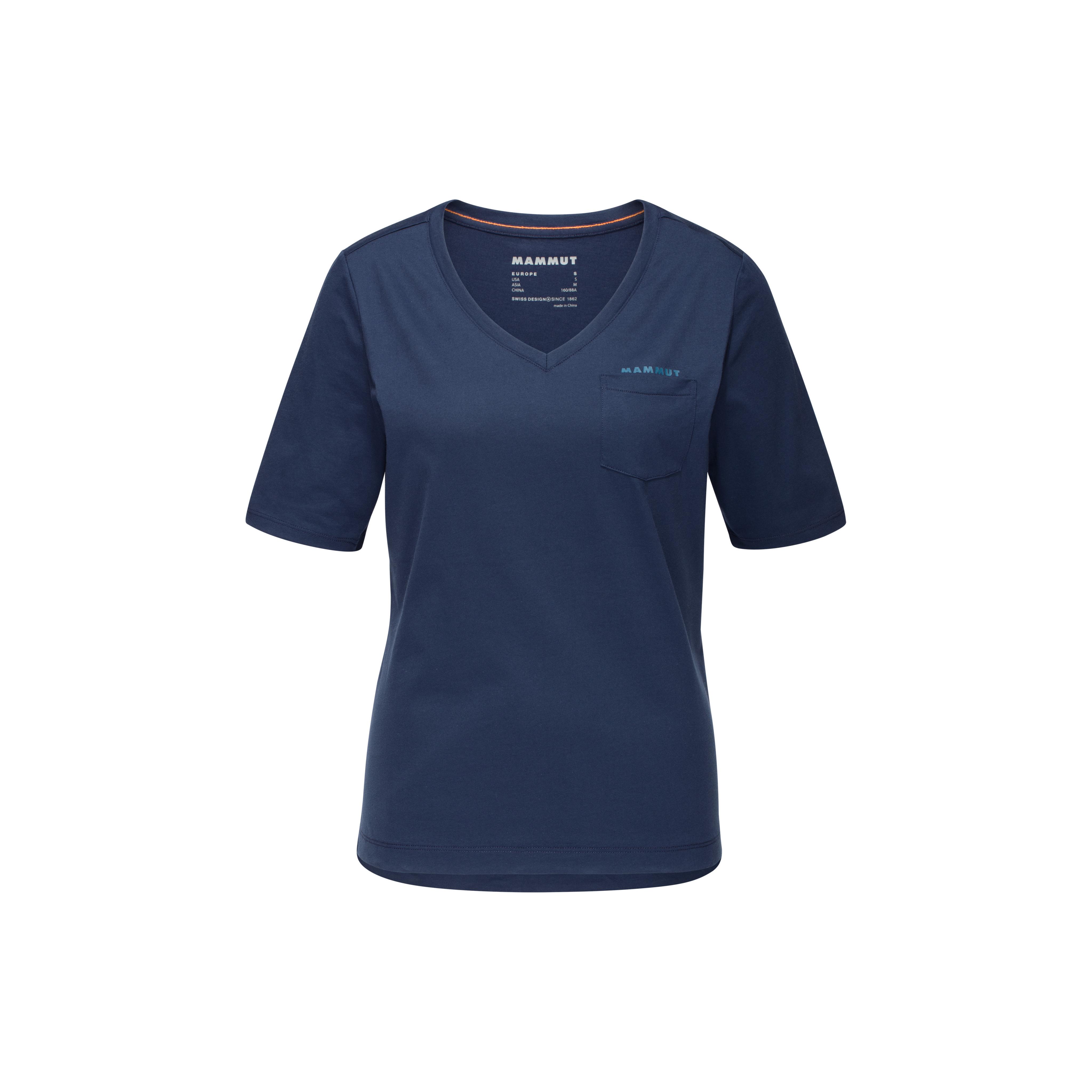Mammut Pocket T-Shirt Women - marine, XS thumbnail
