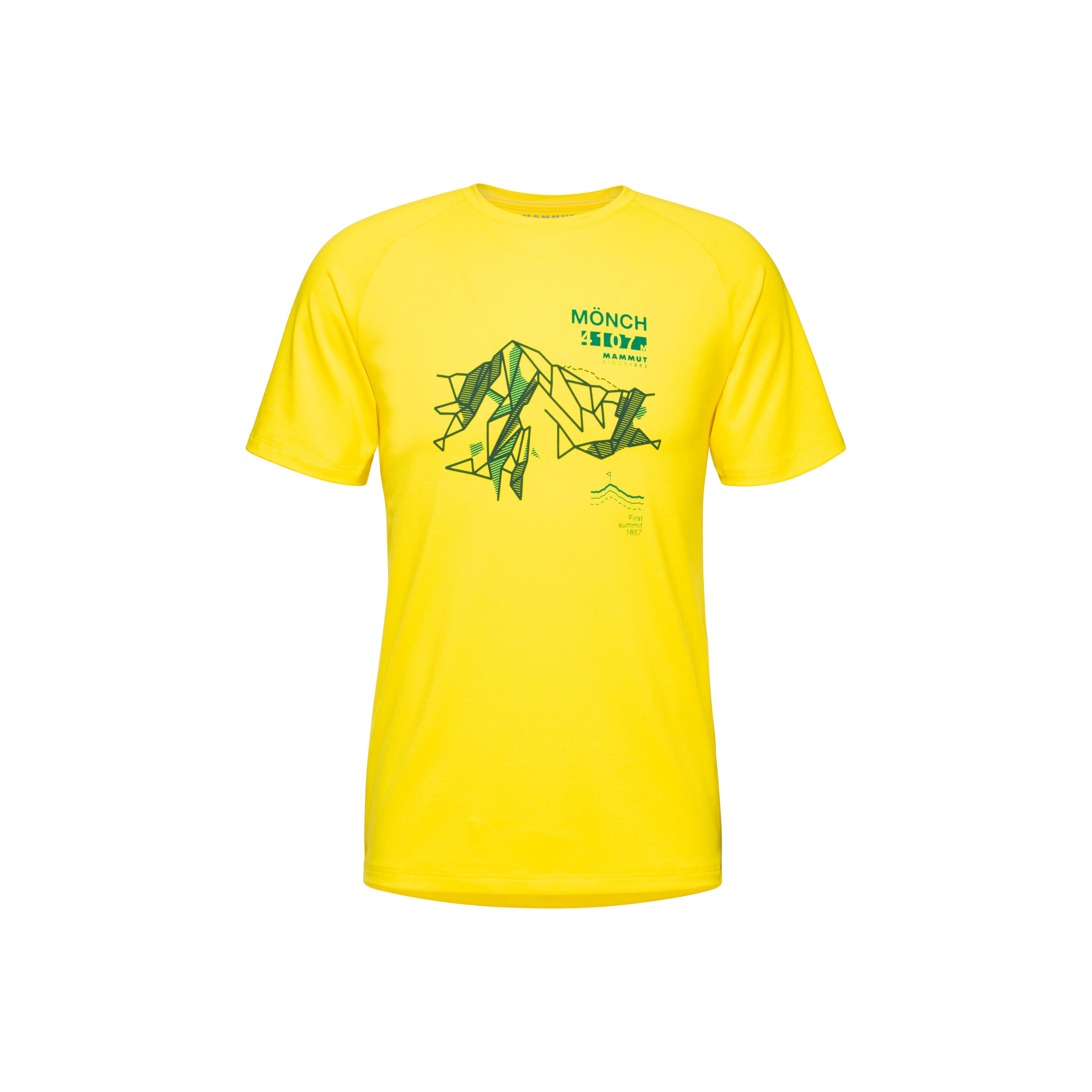 Mountain T-Shirt Men - blazing, S thumbnail
