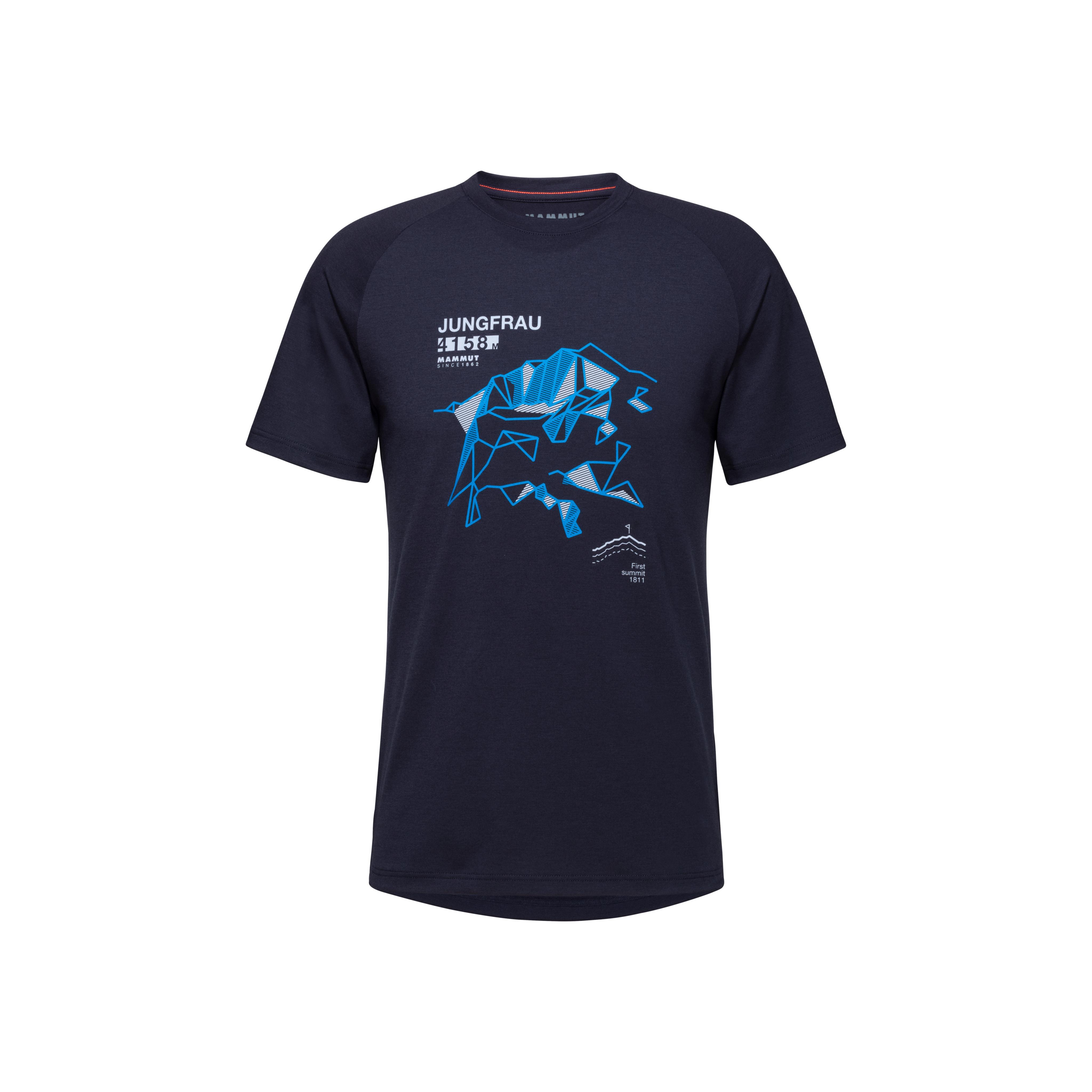 Mountain T-Shirt Men - marine, S thumbnail