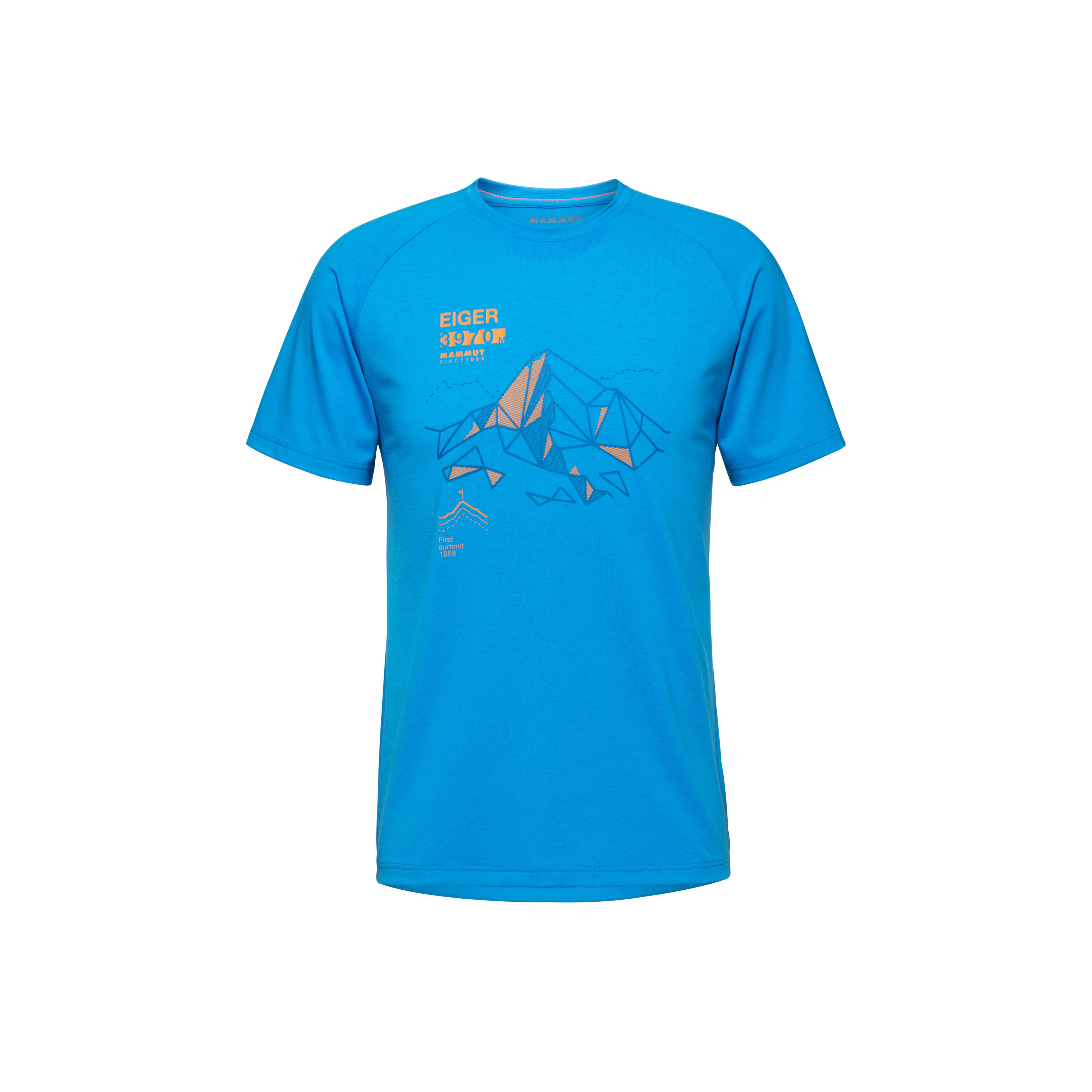 Mountain T-Shirt Men - gentian, S thumbnail