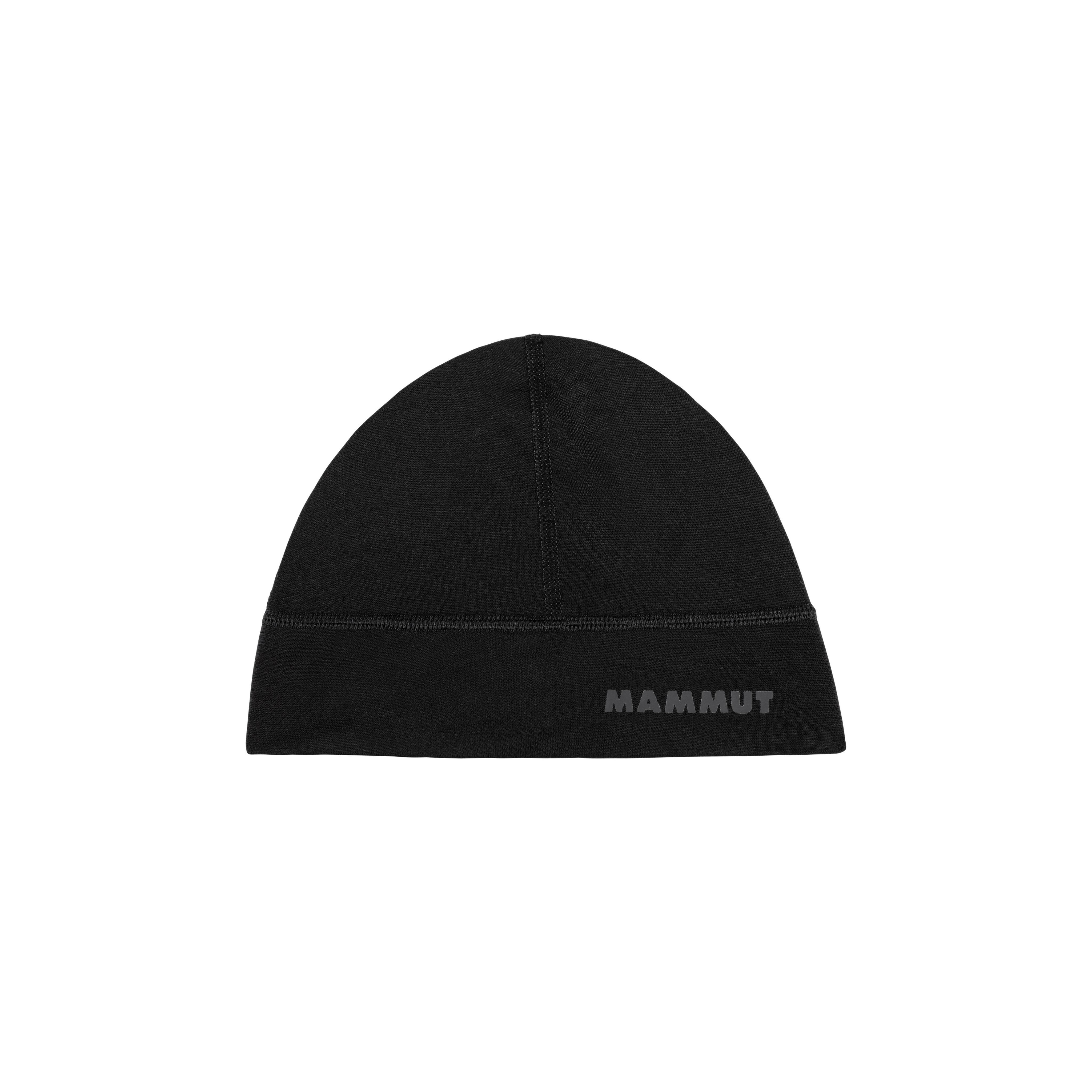 Merino Helmet Beanie - black, one size thumbnail