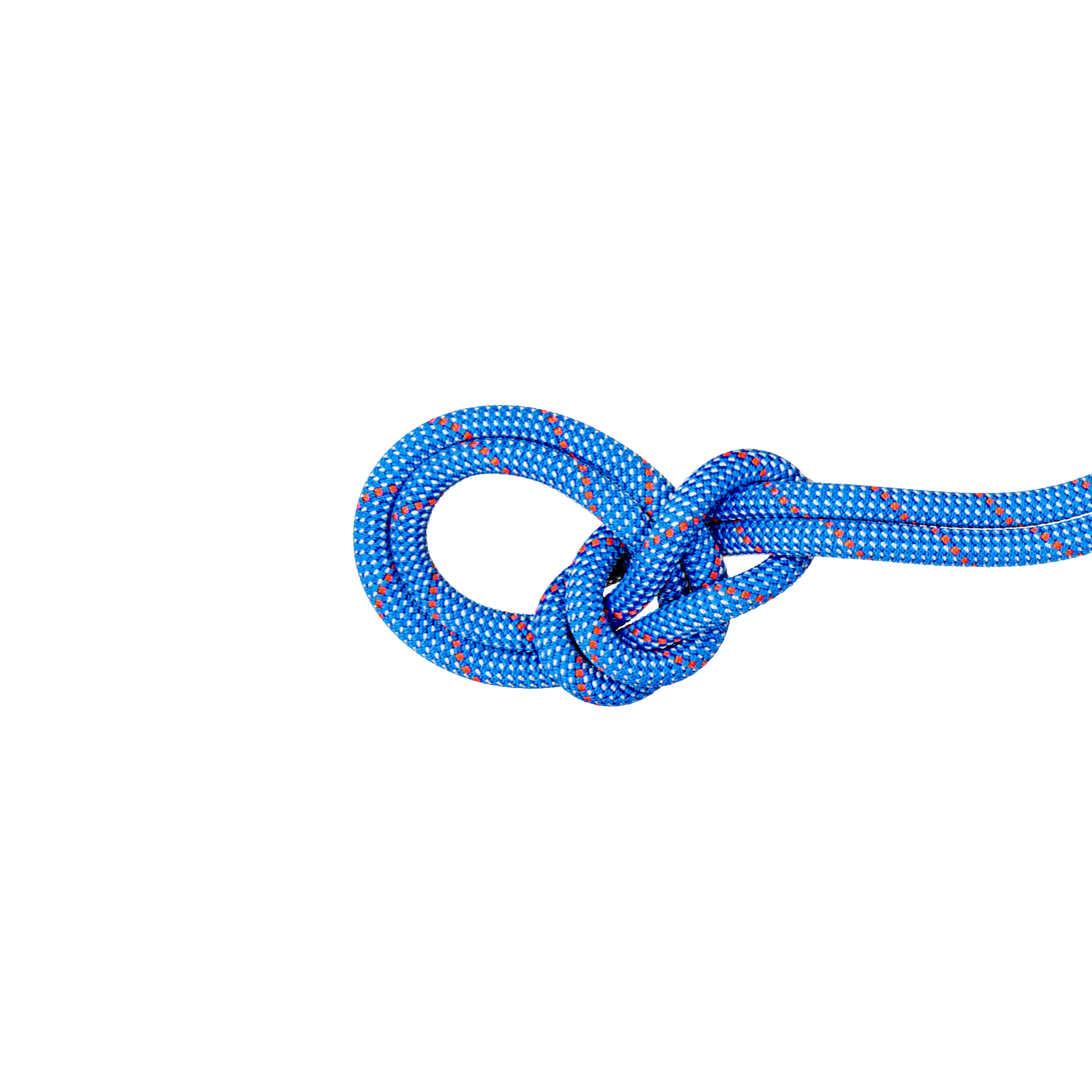 9.5 Crag Classic Rope - 50 m, Classic Standard, blue-white thumbnail