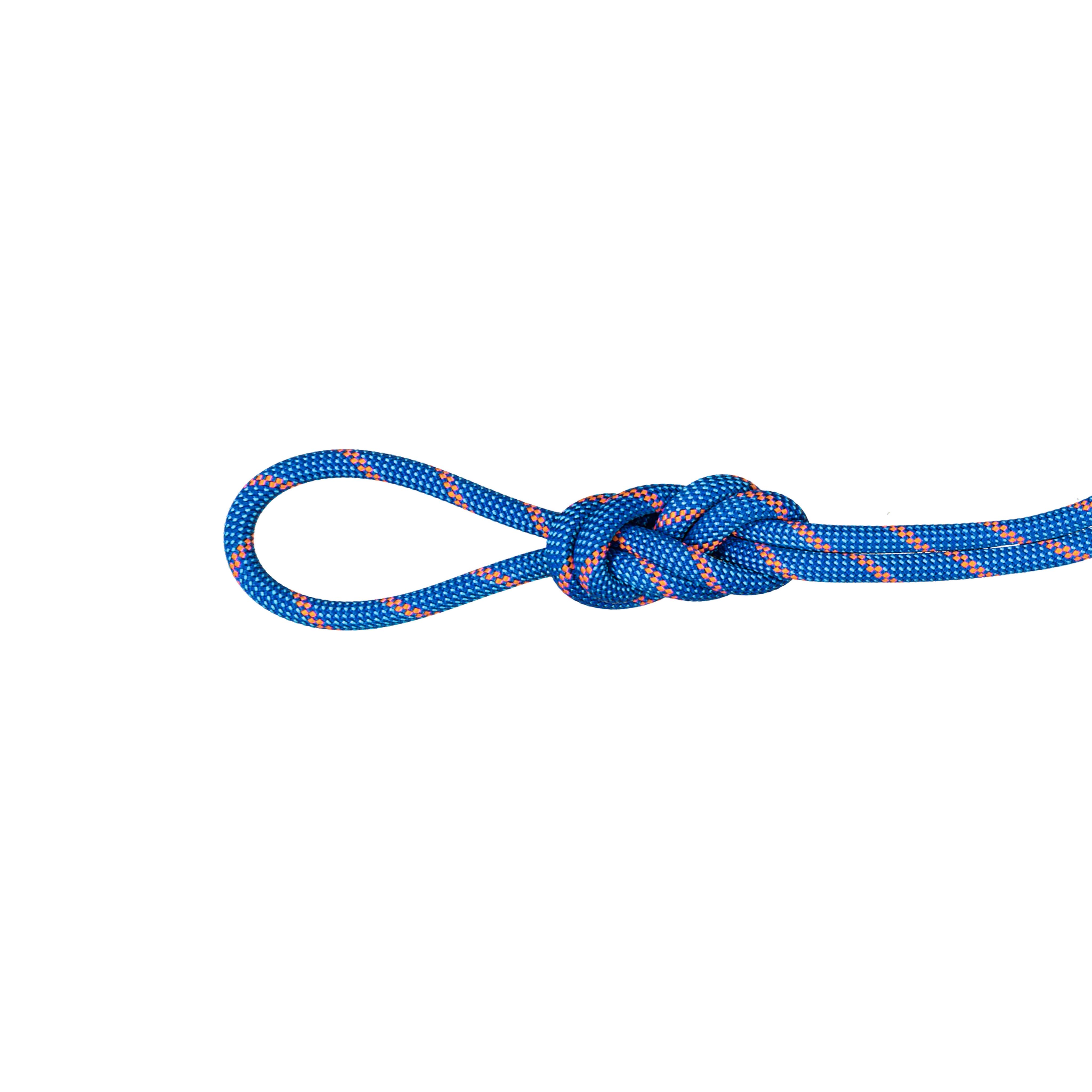 7.5 Alpine Sender Dry Rope - 50 m, Dry Standard, blue-safety orange thumbnail