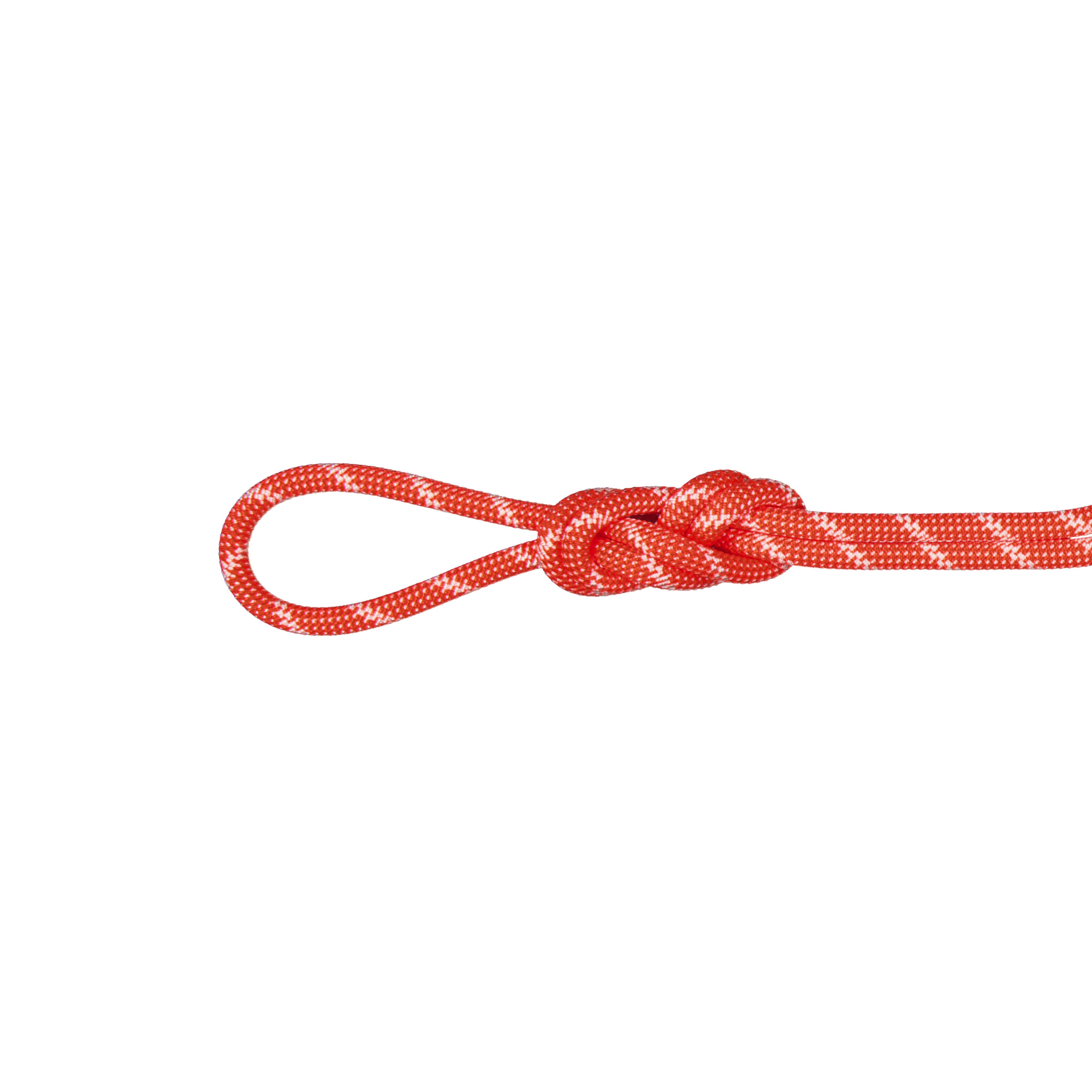 8.0 Alpine Classic Rope - 60 m, Classic Standard, orange-white thumbnail