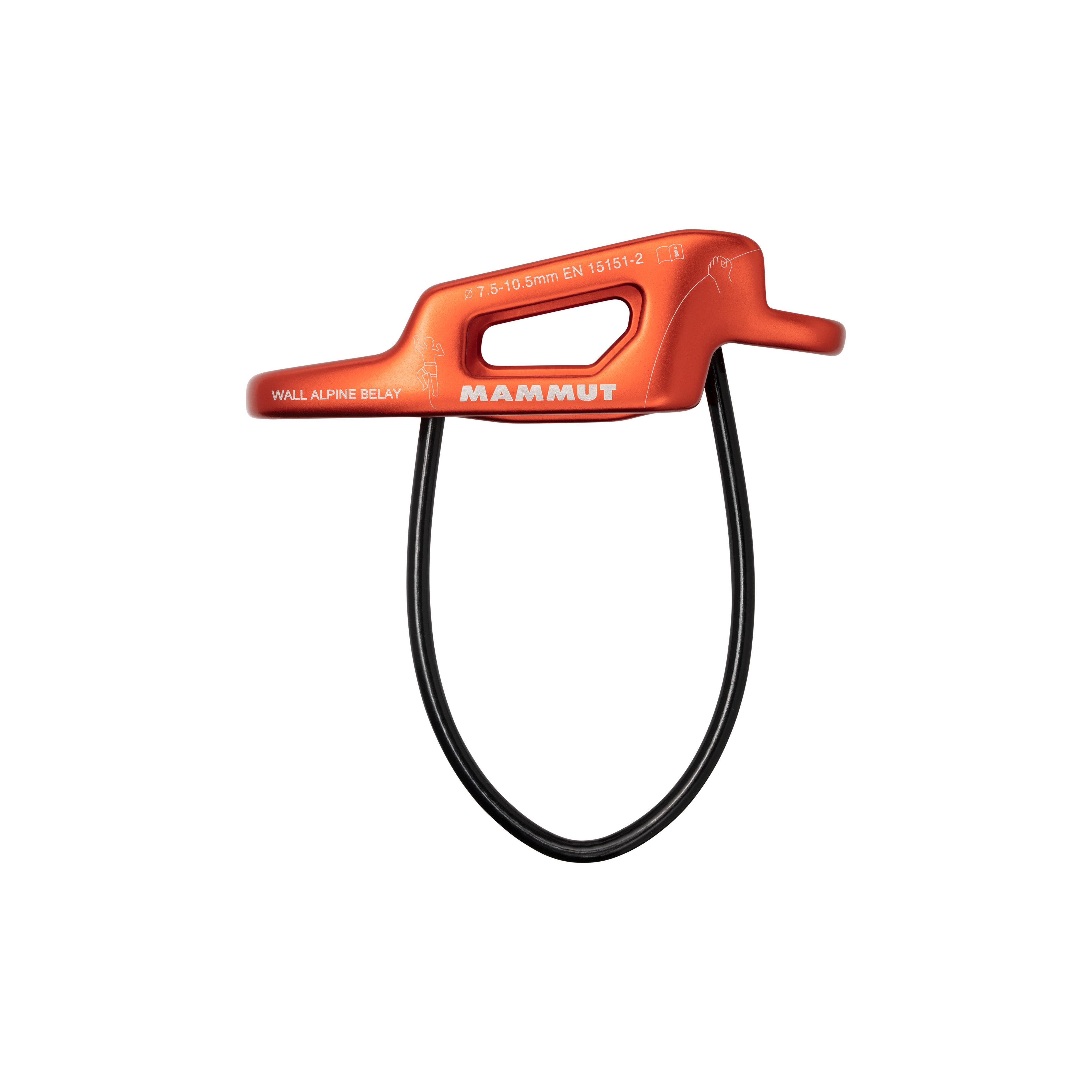 Wall Alpine Belay - one size, orange product image