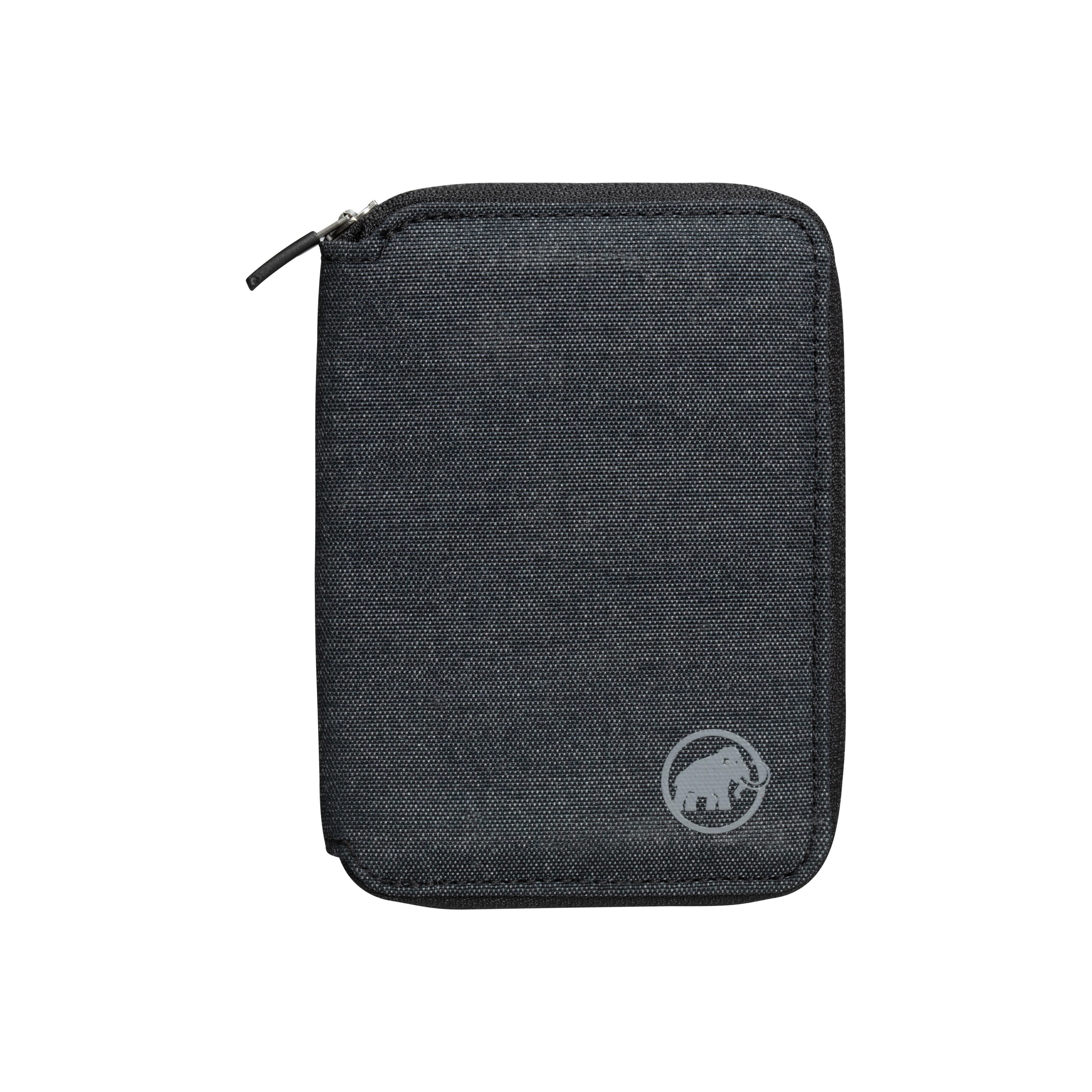 Zip Wallet Mélange - black, one size thumbnail