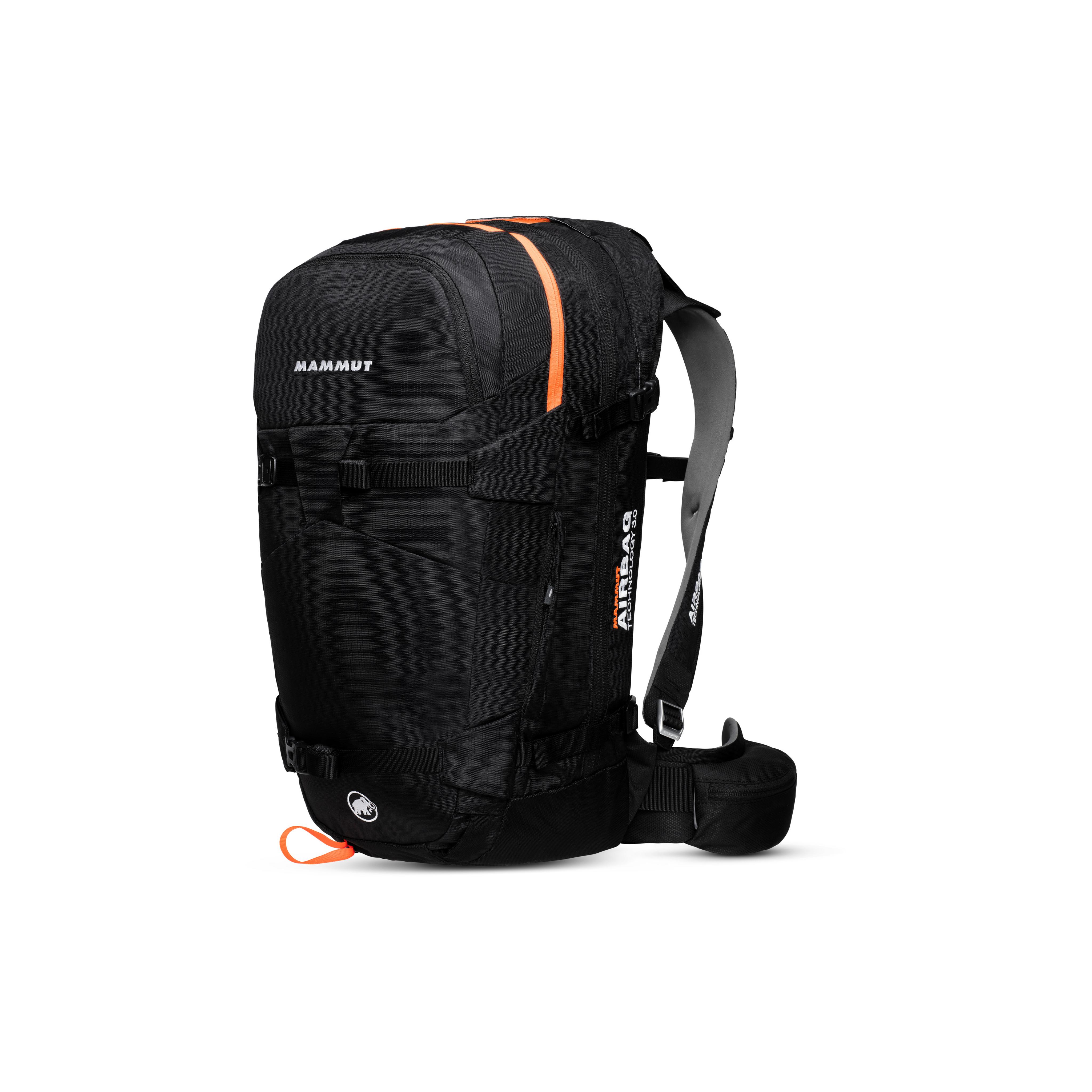 Ride Removable Airbag 3.0 - 30 L, black-vibrant orange thumbnail