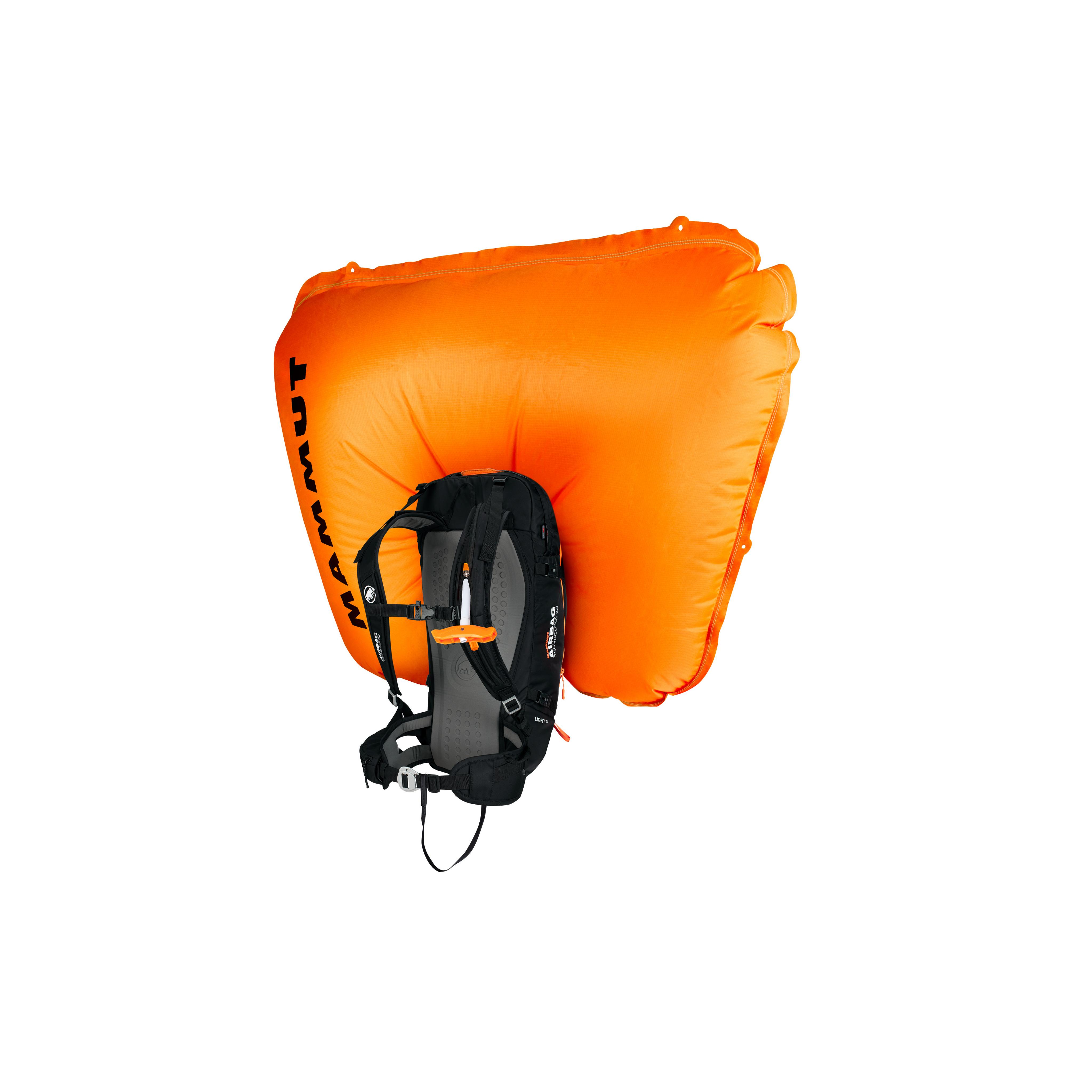 Light Removable Airbag 3.0 - 30 L, black-vibrant orange thumbnail